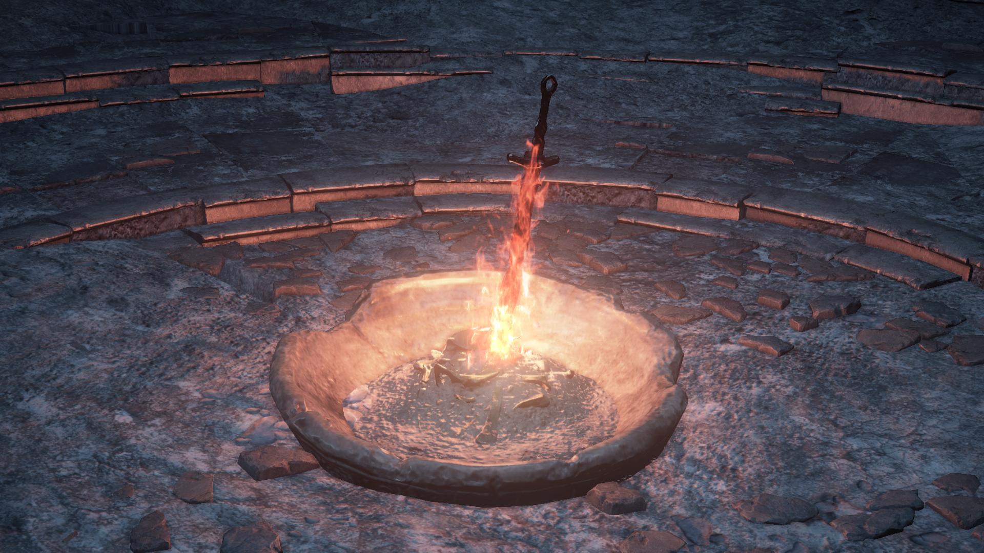 Bonfire (Dark Souls III)   Dark Souls Wiki   FANDOM powered by Wikia
