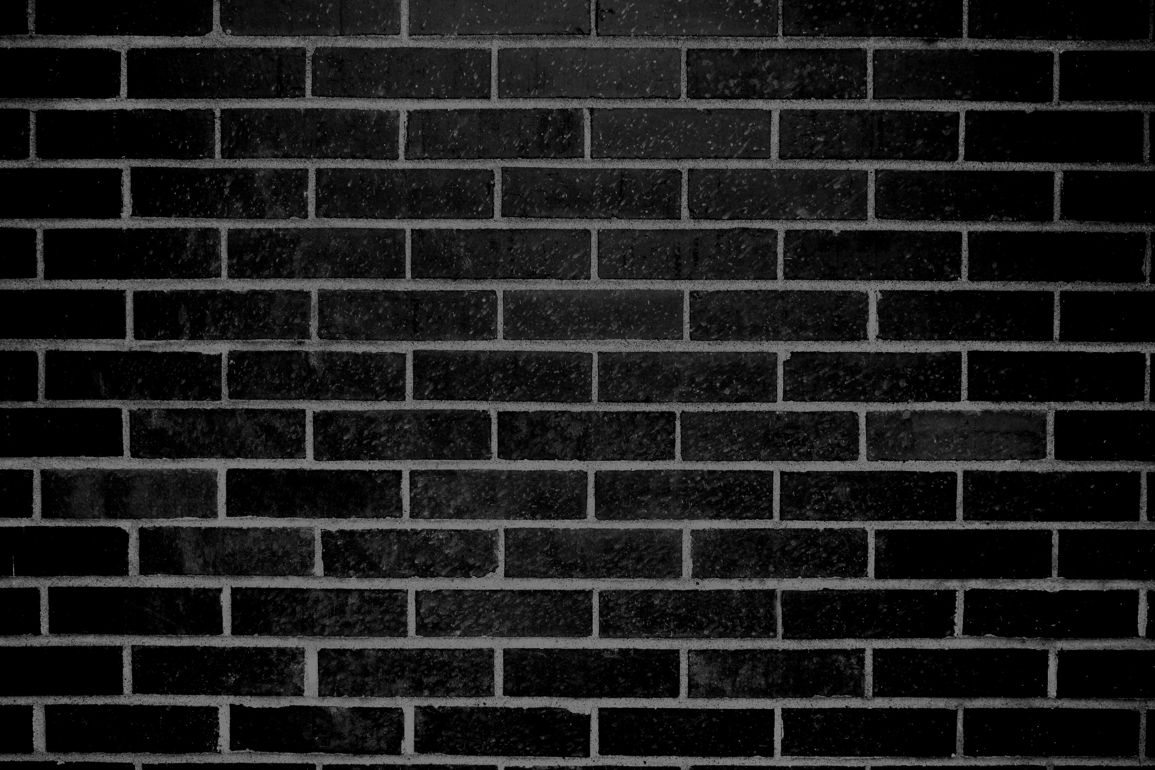 Black Brick Wall Texture Picture | Free Photograph | Photos Public ...
