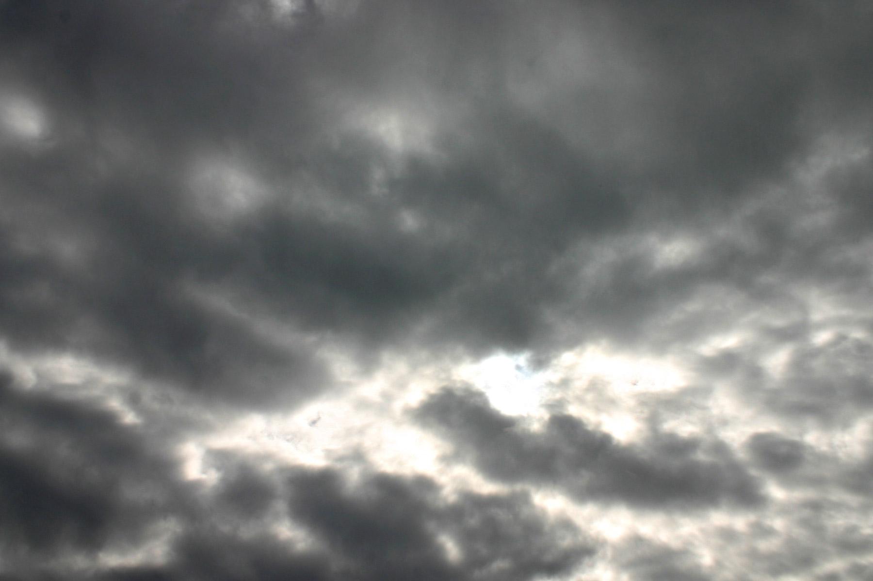 Dark cloudy sky photo