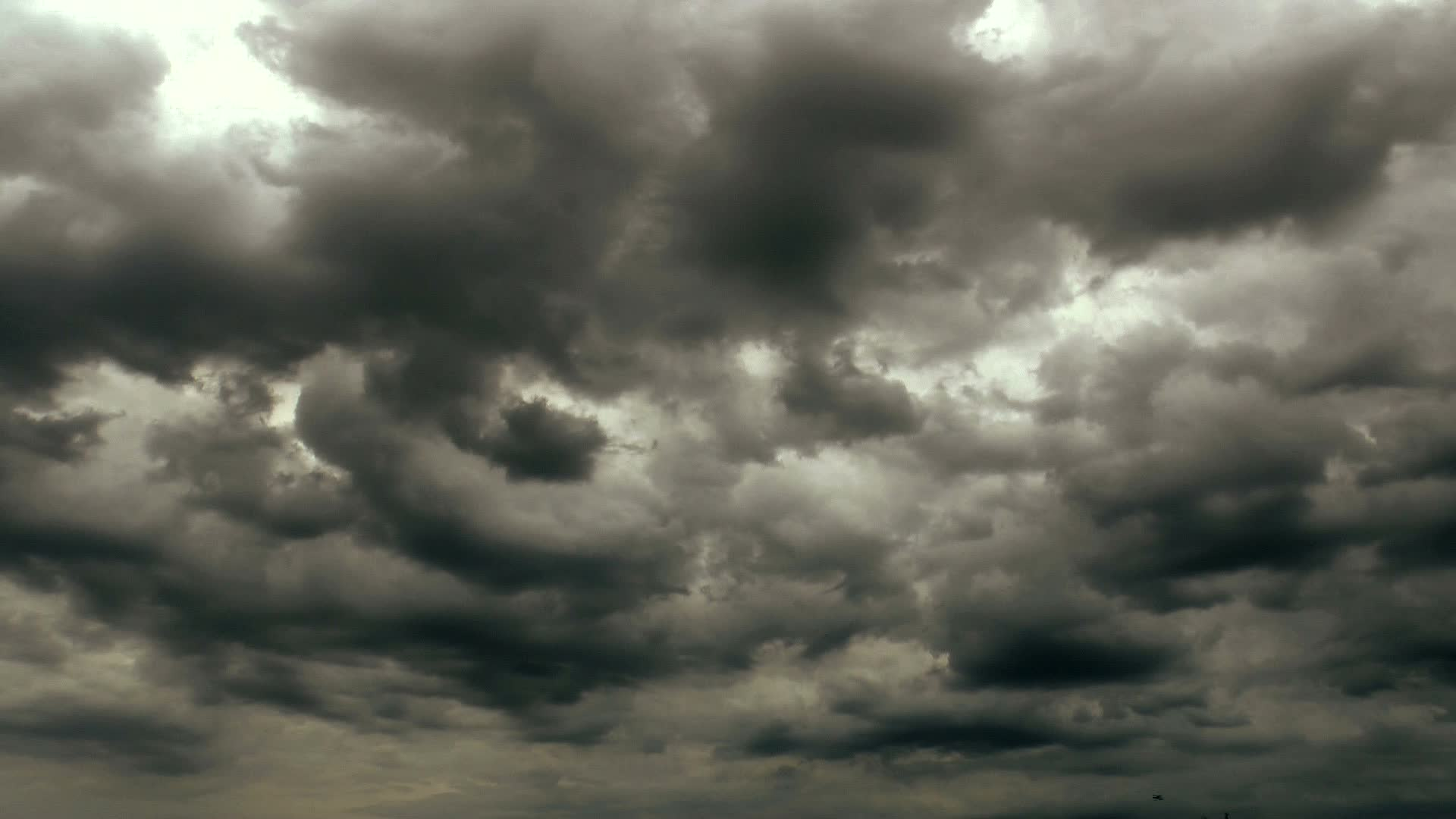 Video: Dark Ominous Storm Clouds Time Lapse ~ #27135029