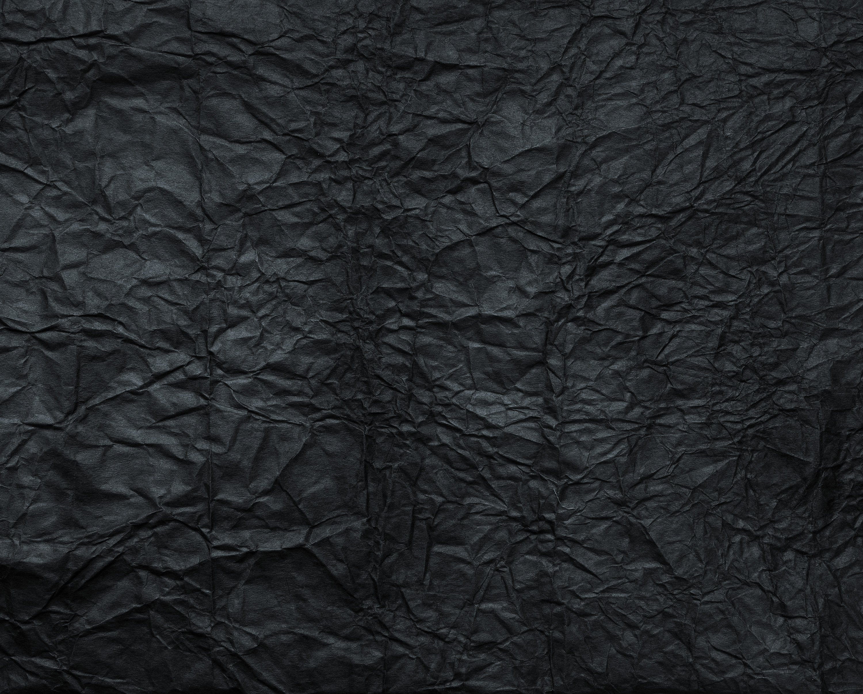 Creased Black Paper Texture