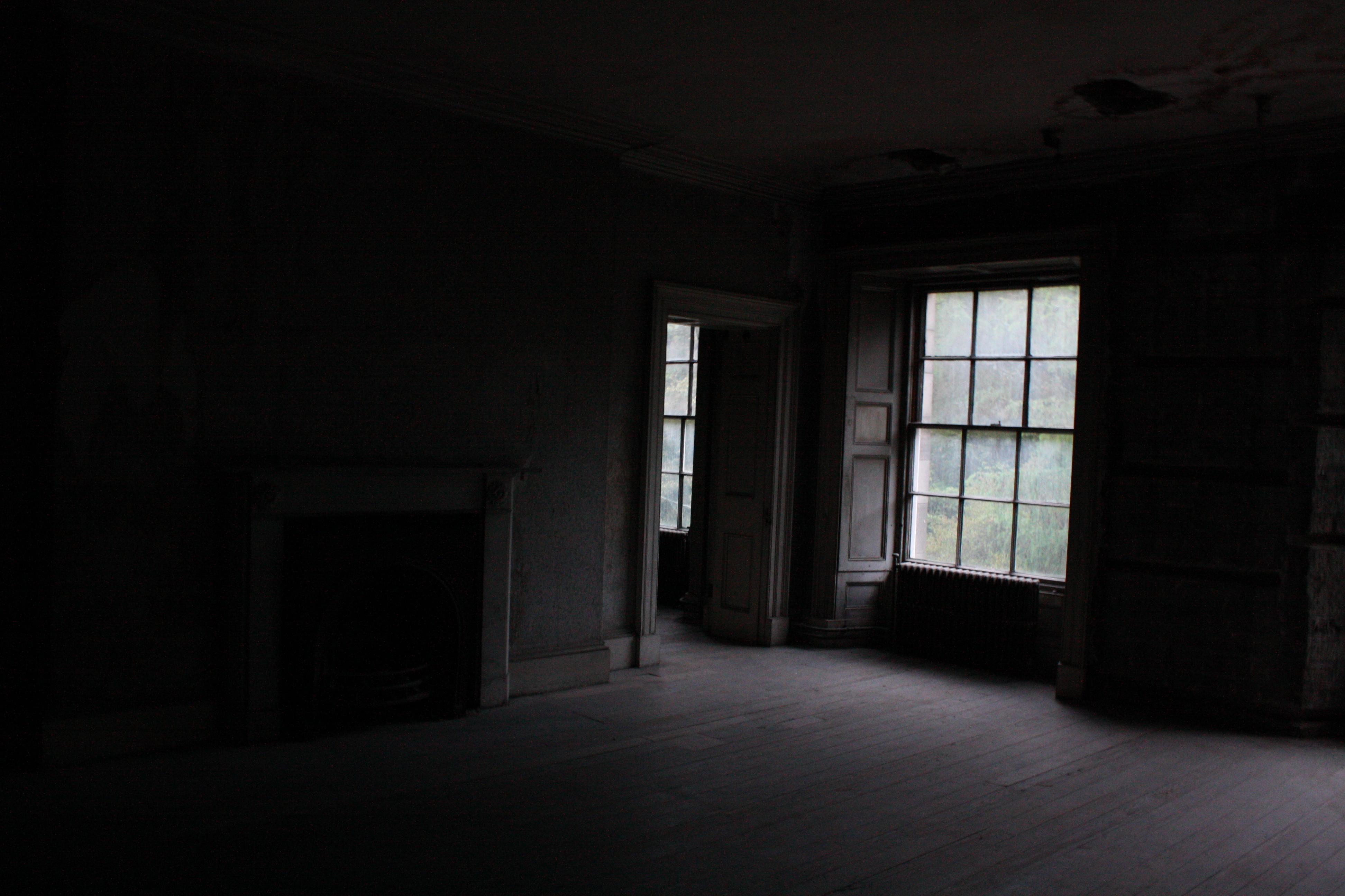 Dark Room & Free photo: Dark Room - Spooky Window Room - Free Download - Jooinn