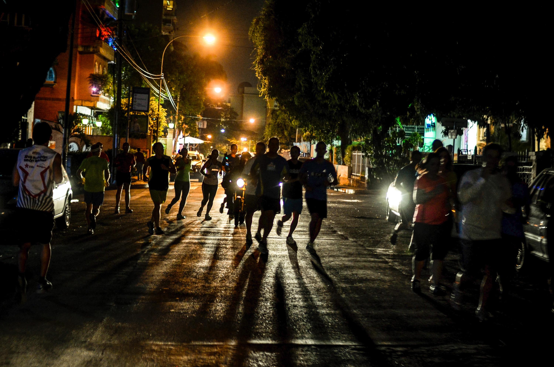 Dark runners photo
