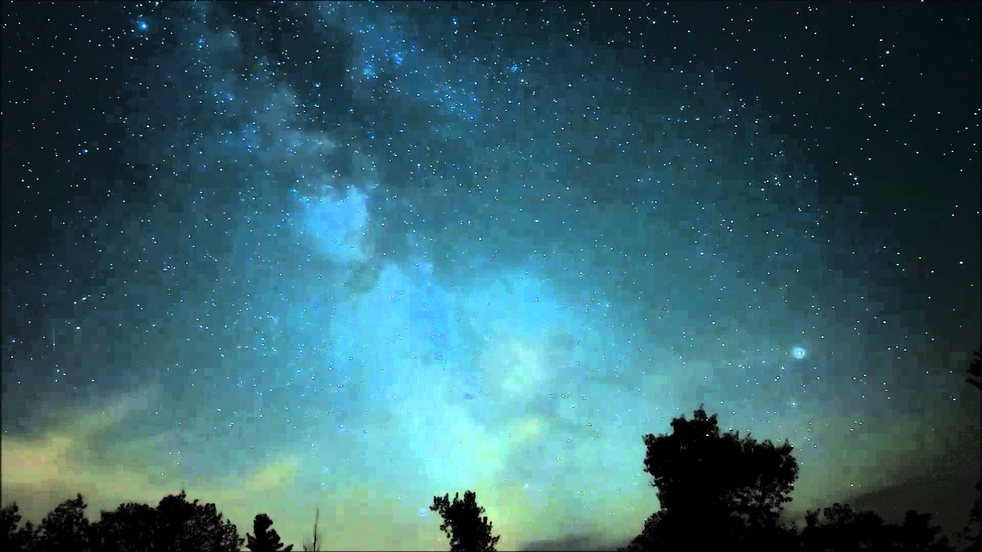 Milky Way over the L&A Dark Sky Viewing Area - YouTube