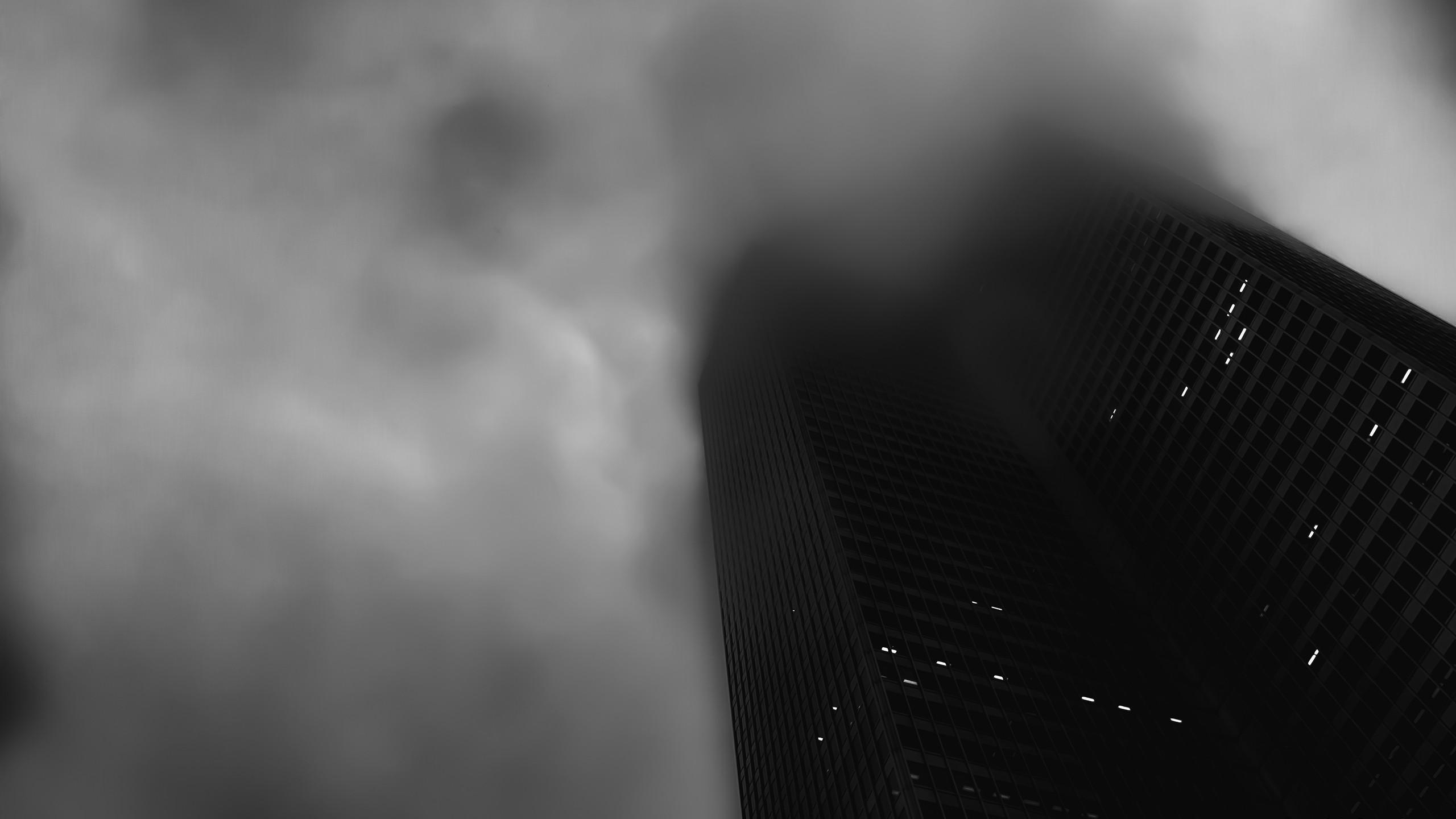 Dark skyscrapers [2560x1440] : wallpapers