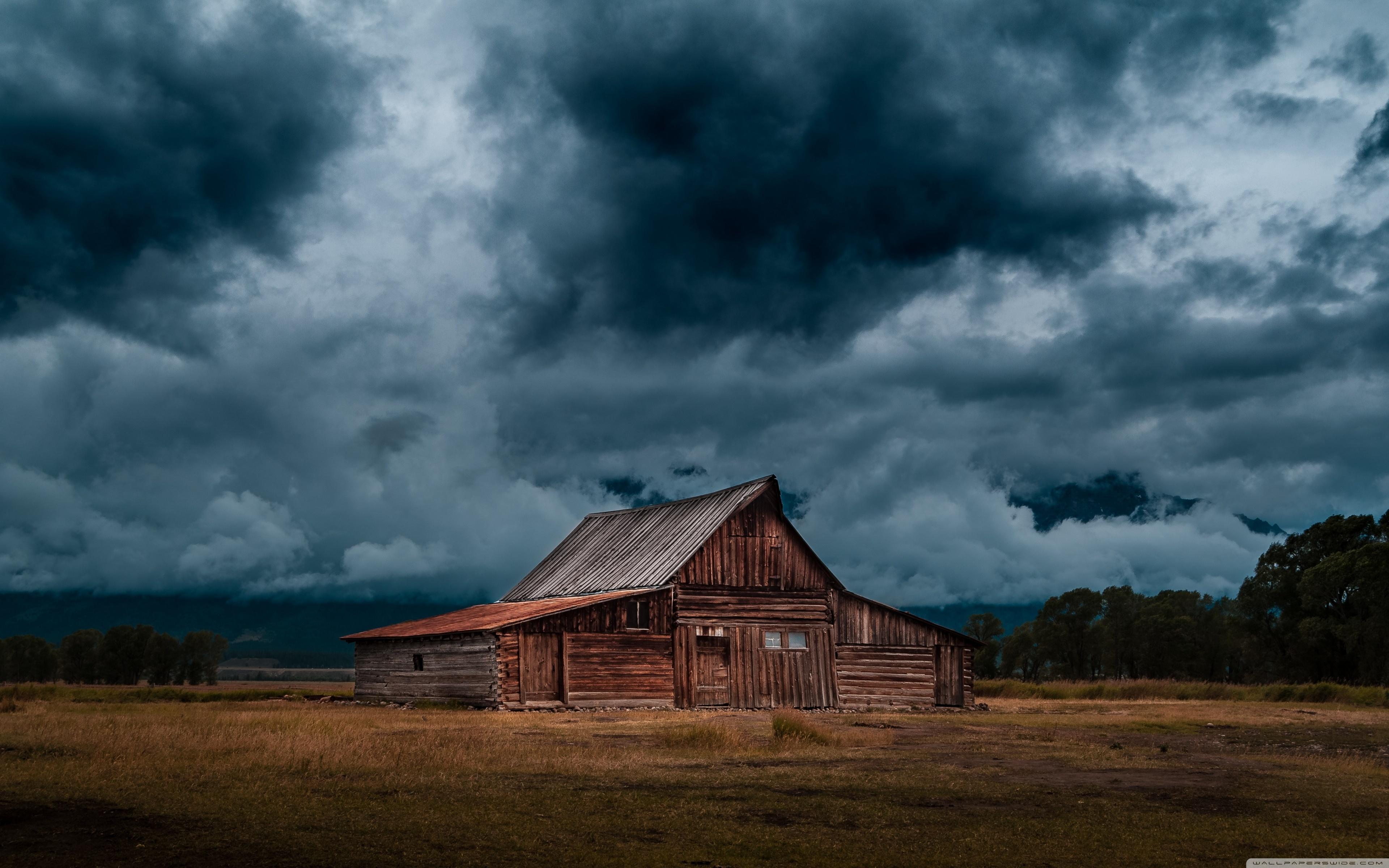Dark Storm Clouds ❤ 4K HD Desktop Wallpaper for • Dual Monitor ...