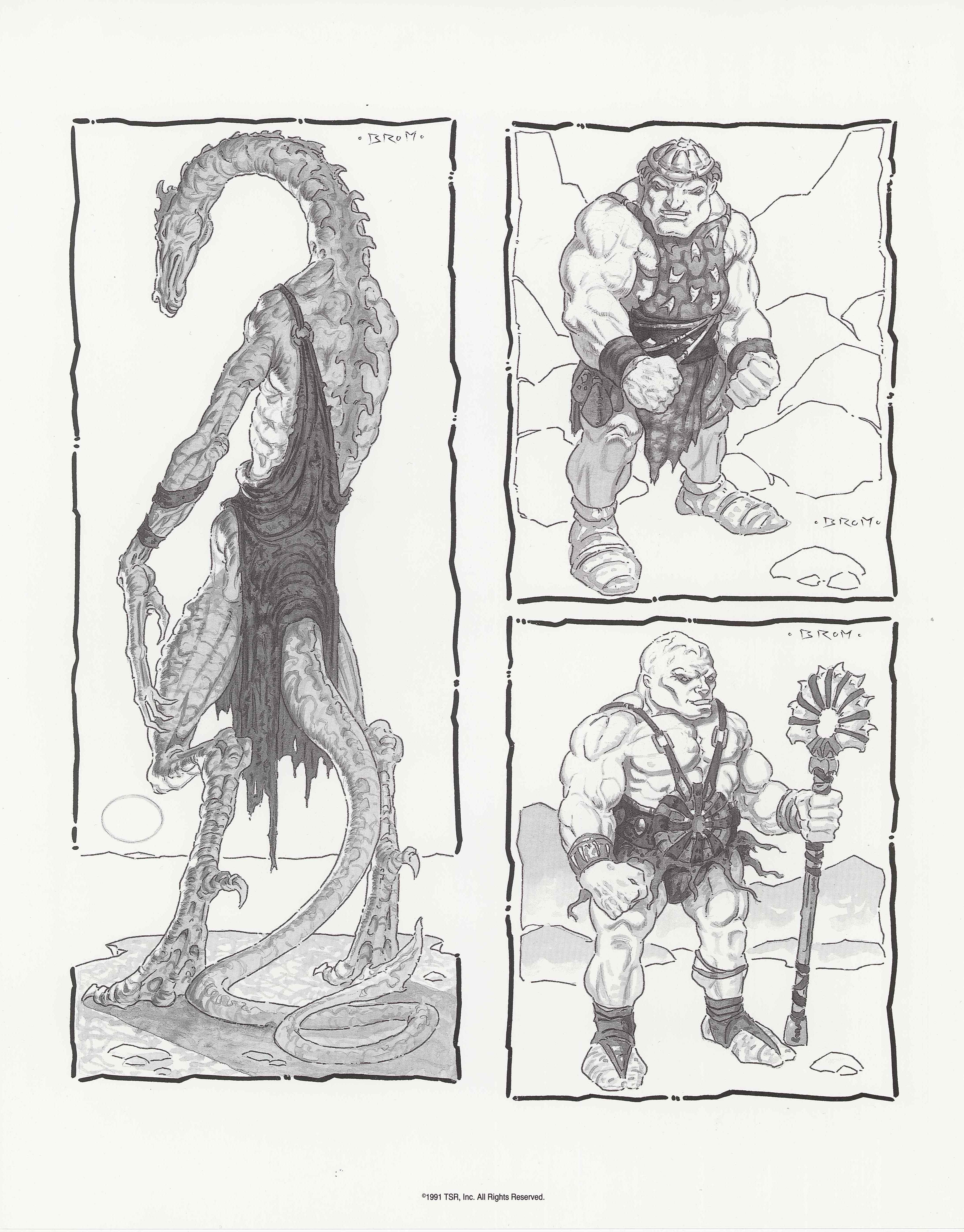 The Burnt World of Athas - Dark Sun Art Prints