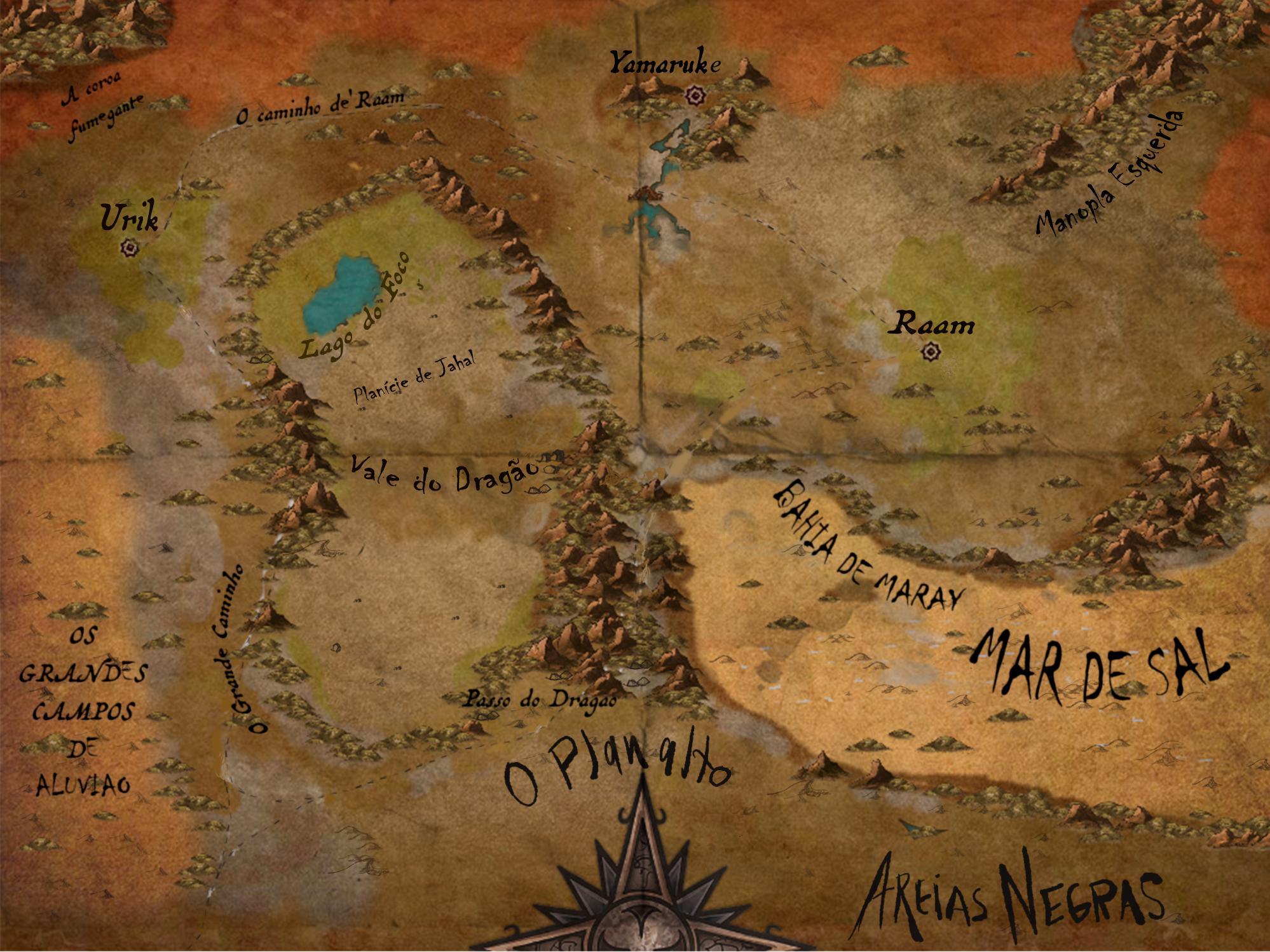 Dark Sun Map, Urik Region : inkarnate