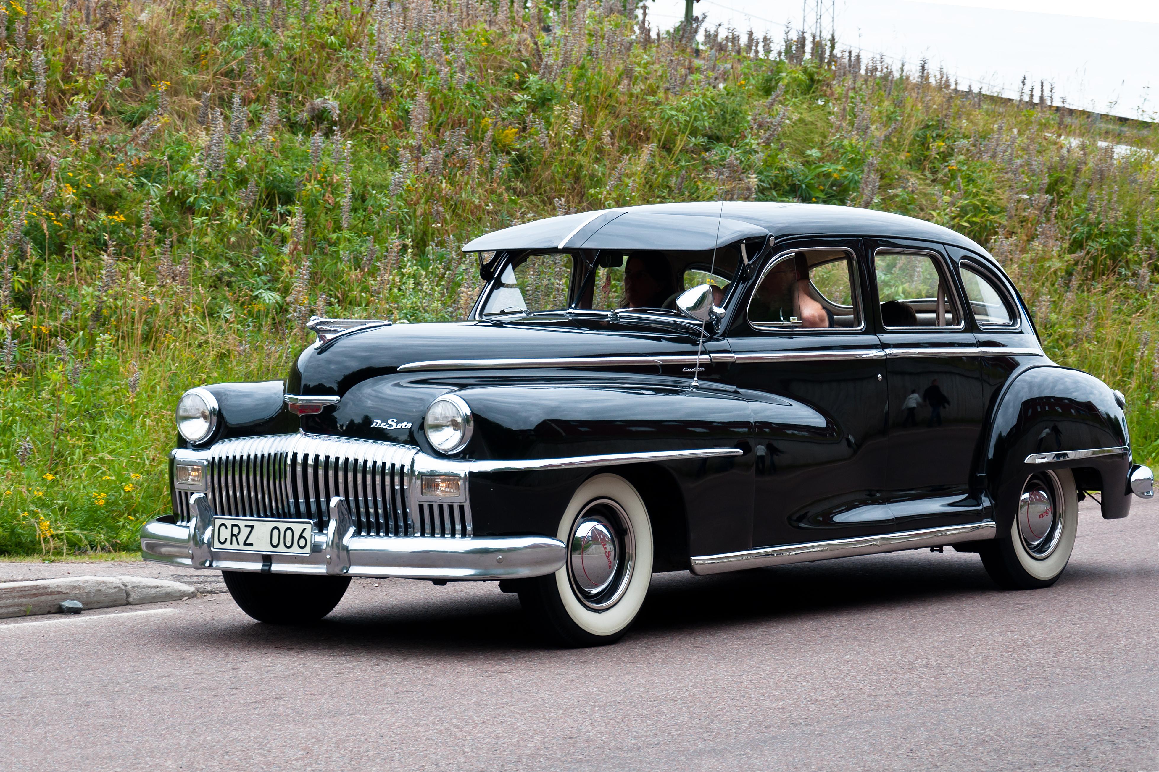 De Soto Custom 1946, Car, Custom, De, Vehicle, HQ Photo