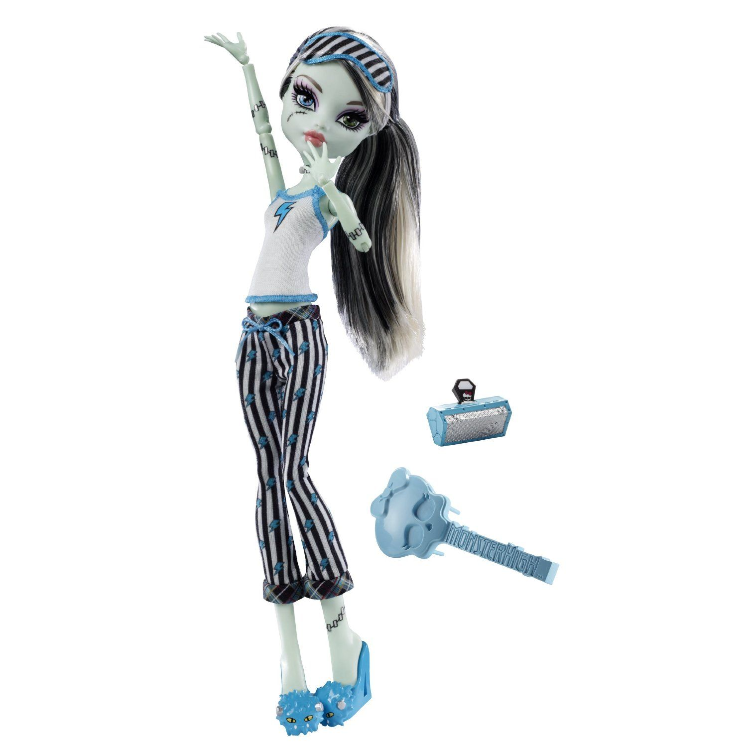 Amazon.com: Monster High Dead Tired Frankie Stein Doll: Toys & Games ...