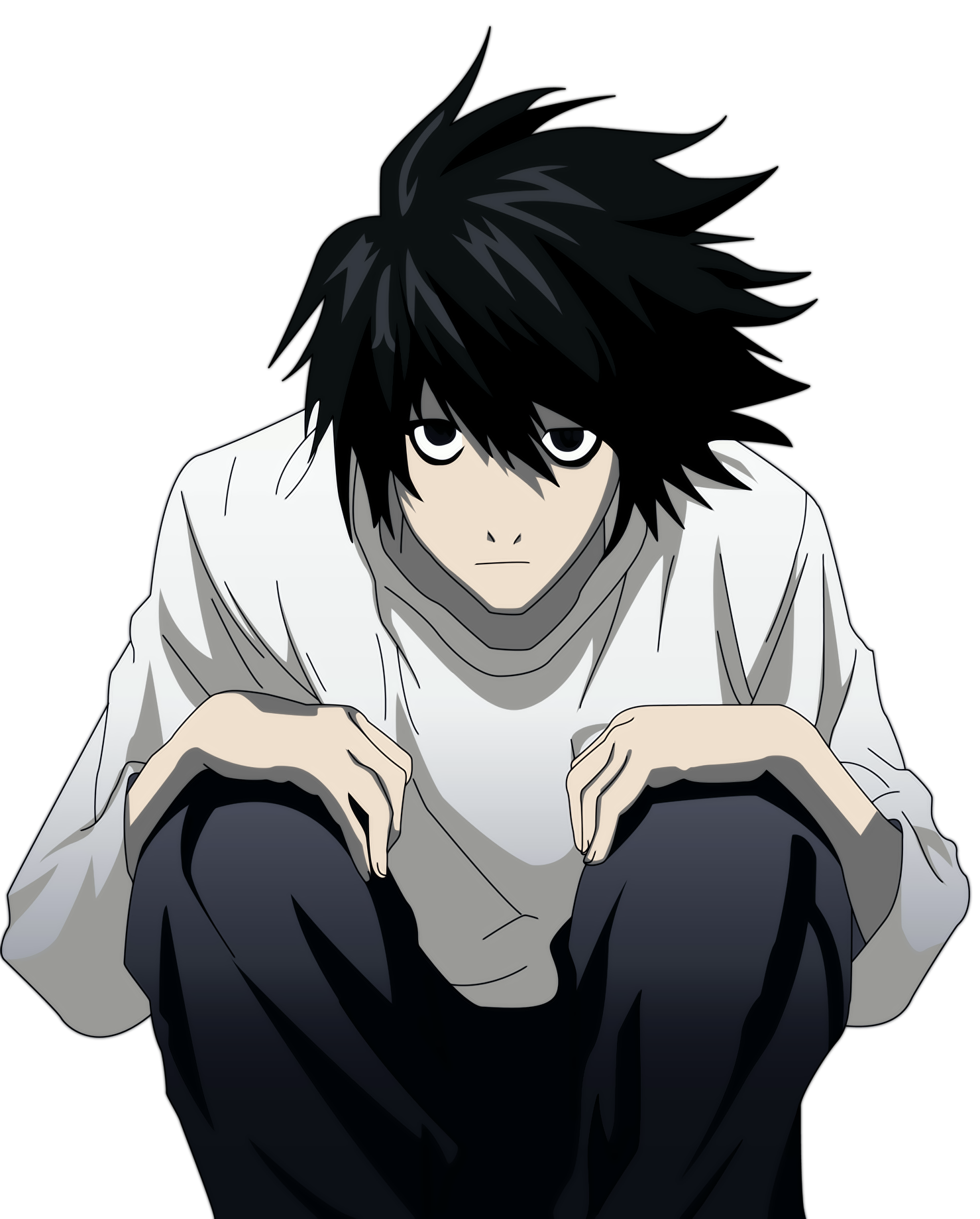 l from death note pictures | You can scroll the shelf using ← and ...
