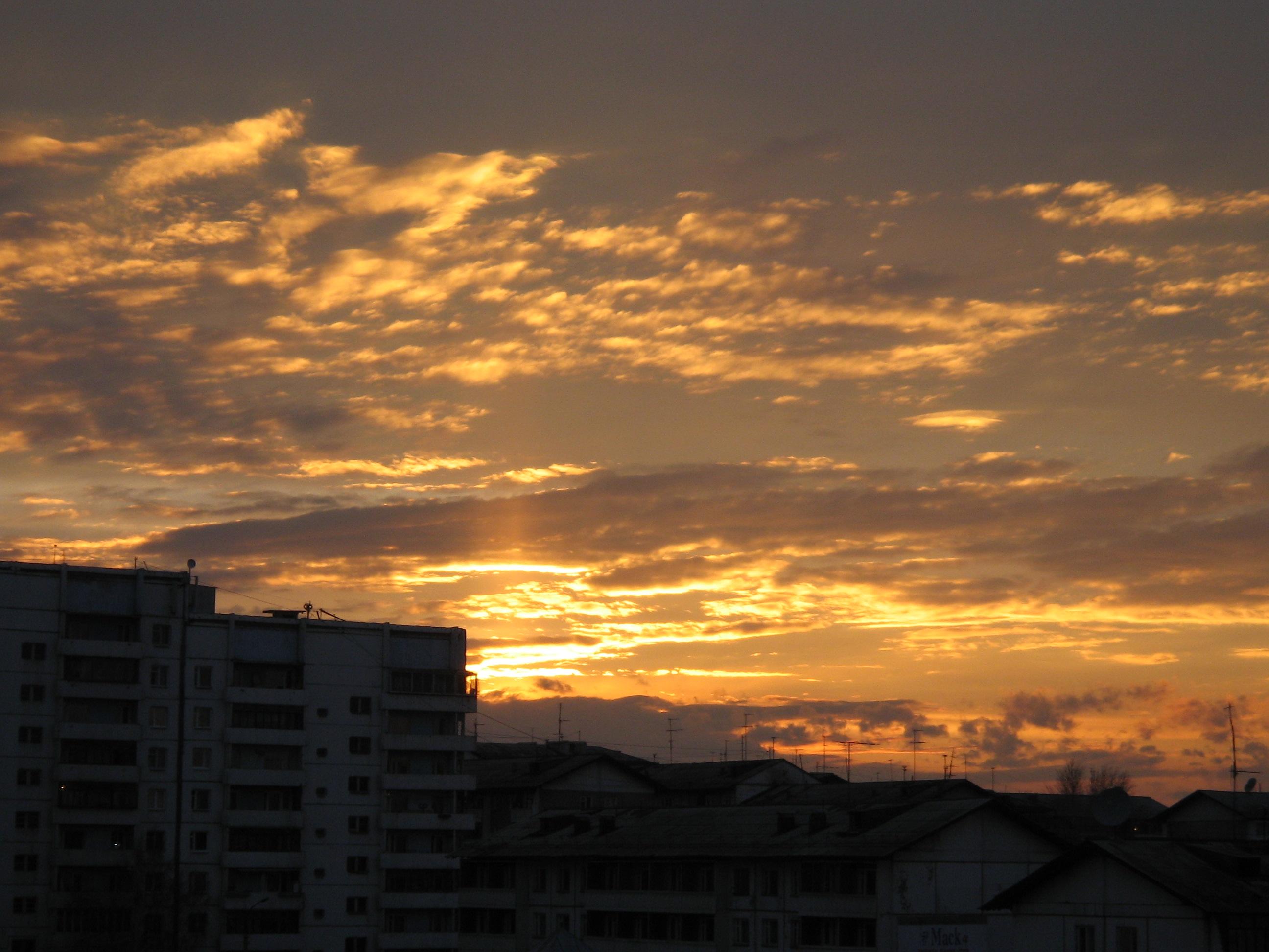 Decline beautiful, sky, skies, sunrise, sunset, HQ Photo