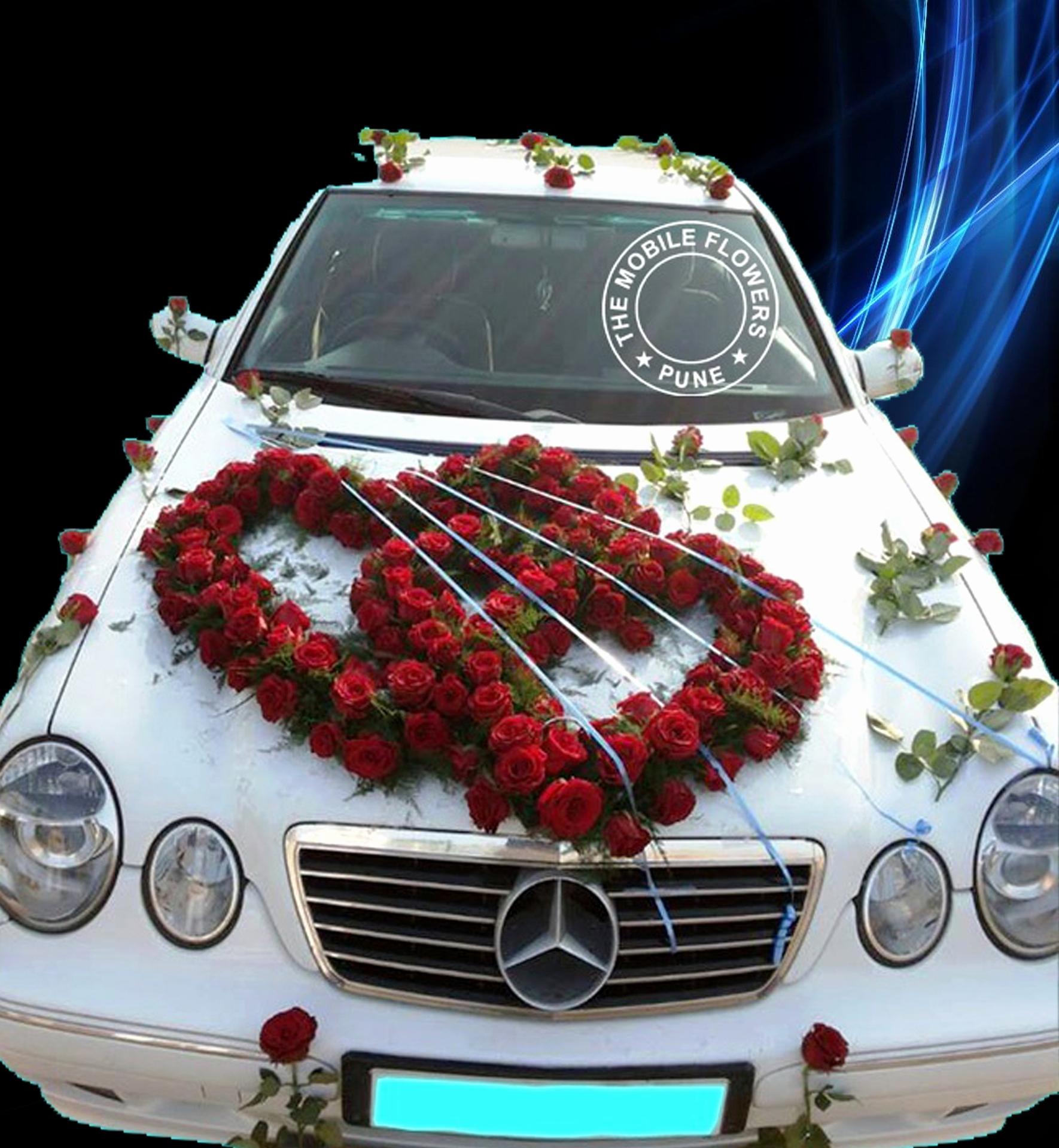 Decorated car photo
