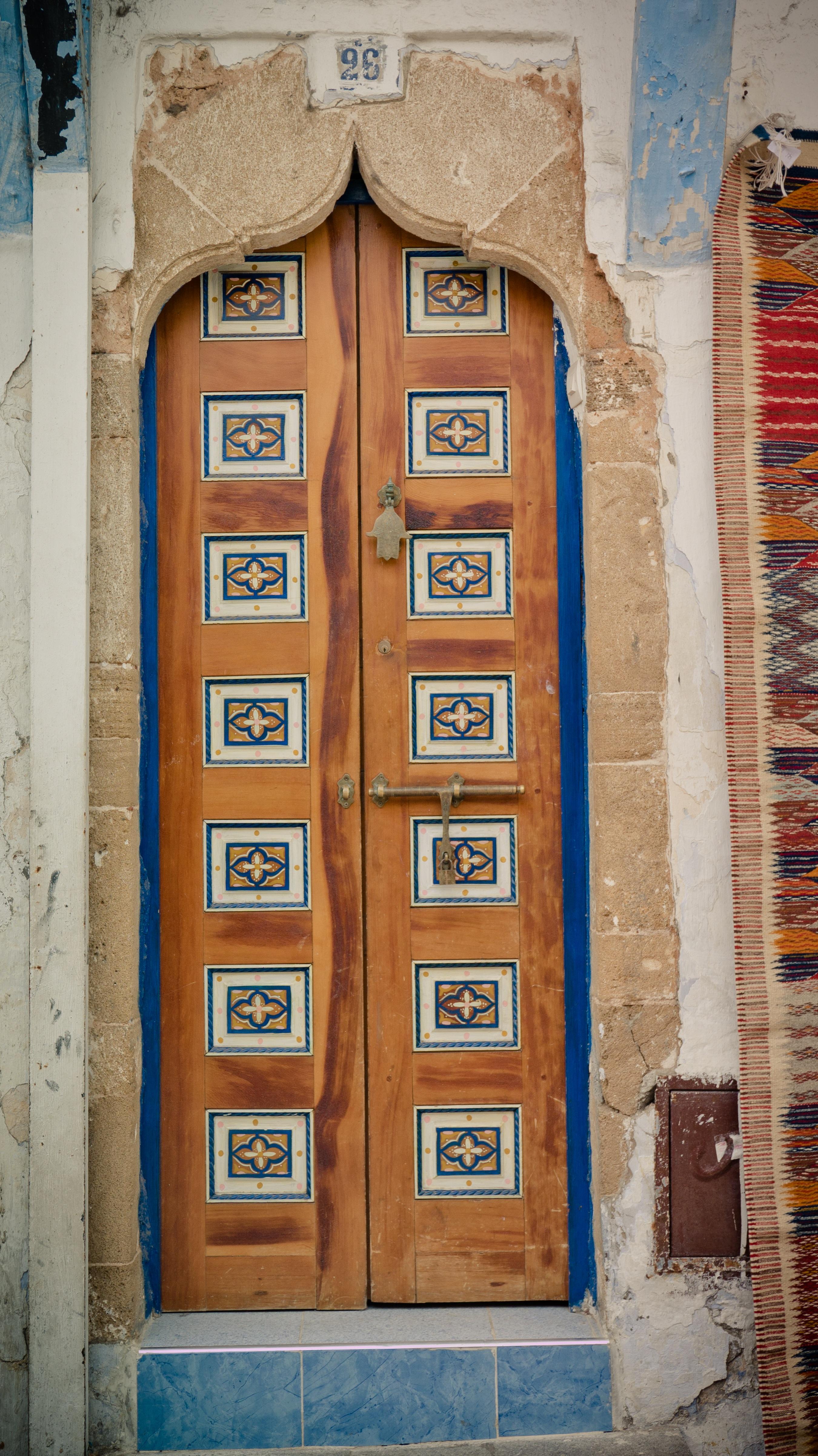 Decorative arabic doors & Free photo: Decorative arabic doors - lamp MiddleEast interior ...