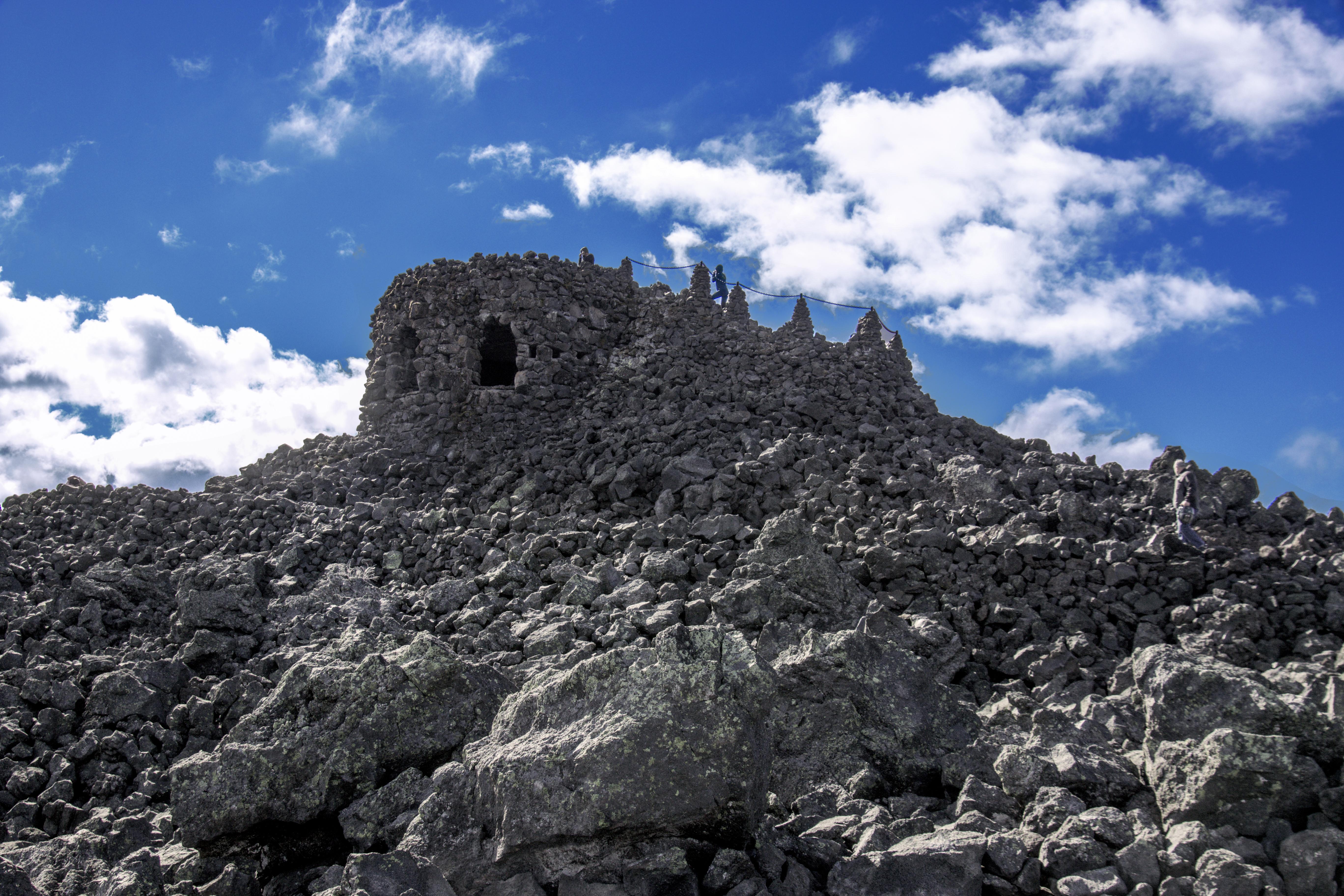 Dee Wright Observatory, Oregon, lava rocks, Sky, Rock, Oregon, Mountainside, HQ Photo