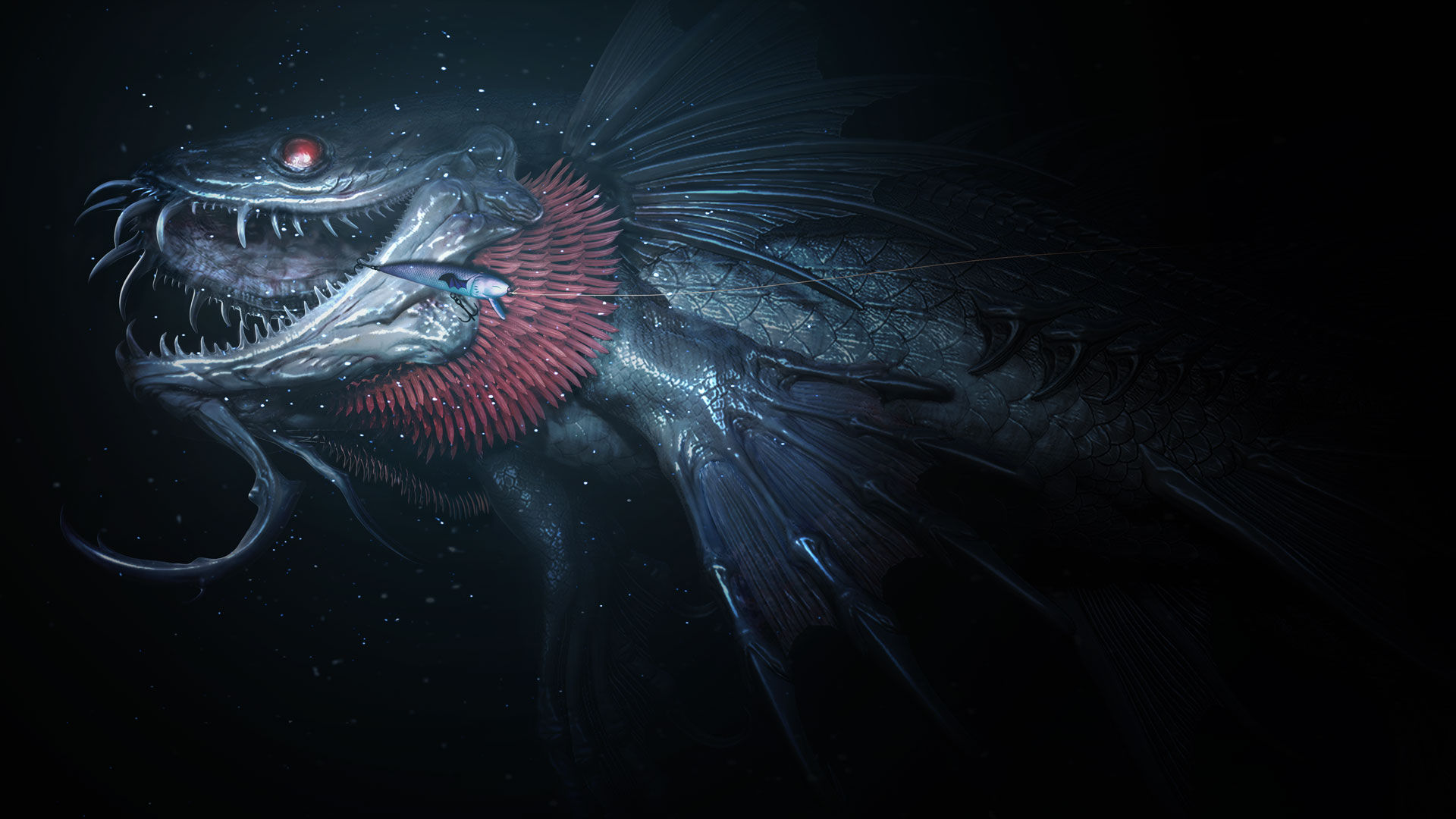Image - Monster of the Deep FFXV fish.jpg | Final Fantasy Wiki ...