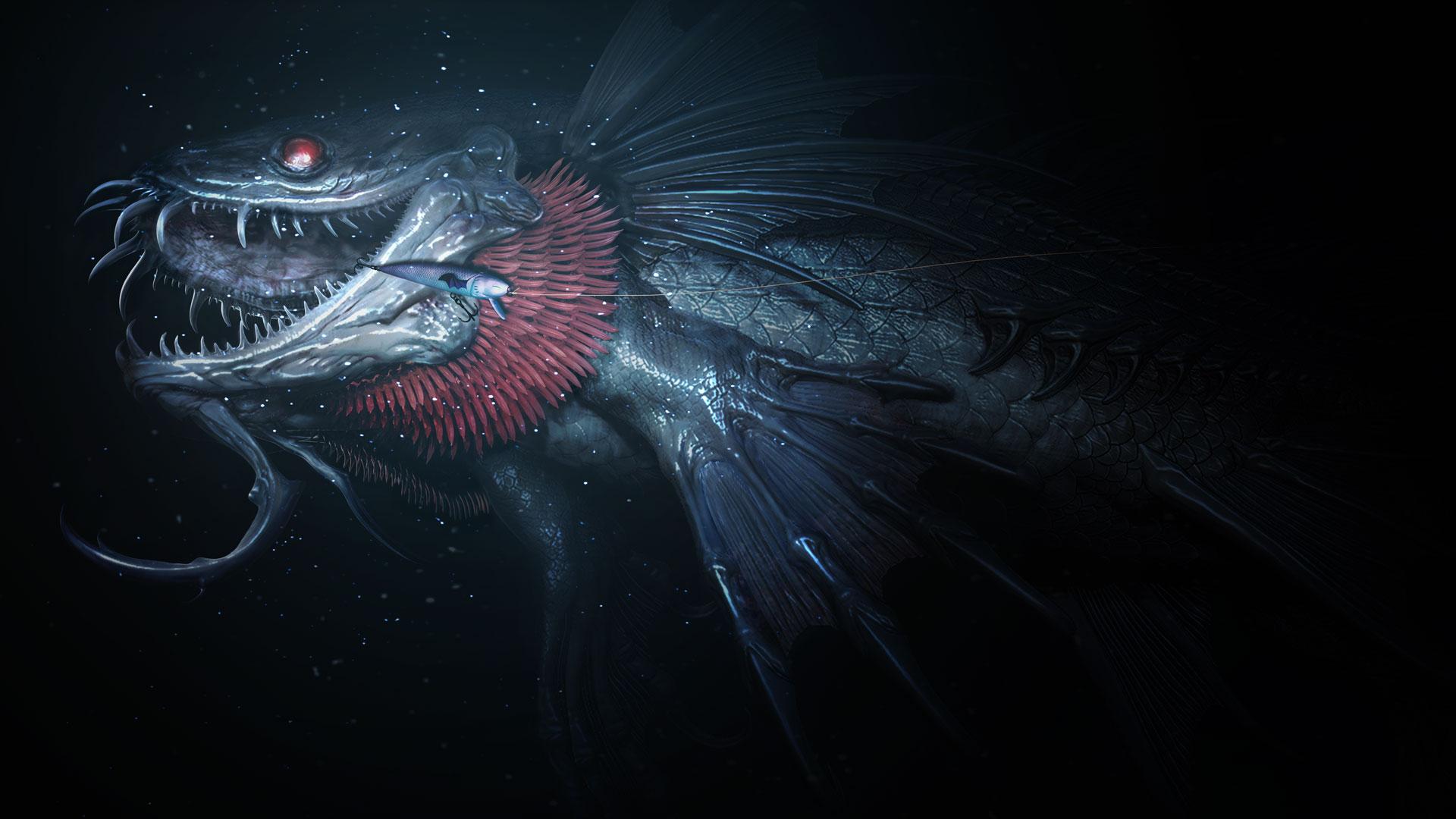Image - Monster of the Deep FFXV fish.jpg | Final Fantasy Wiki ...