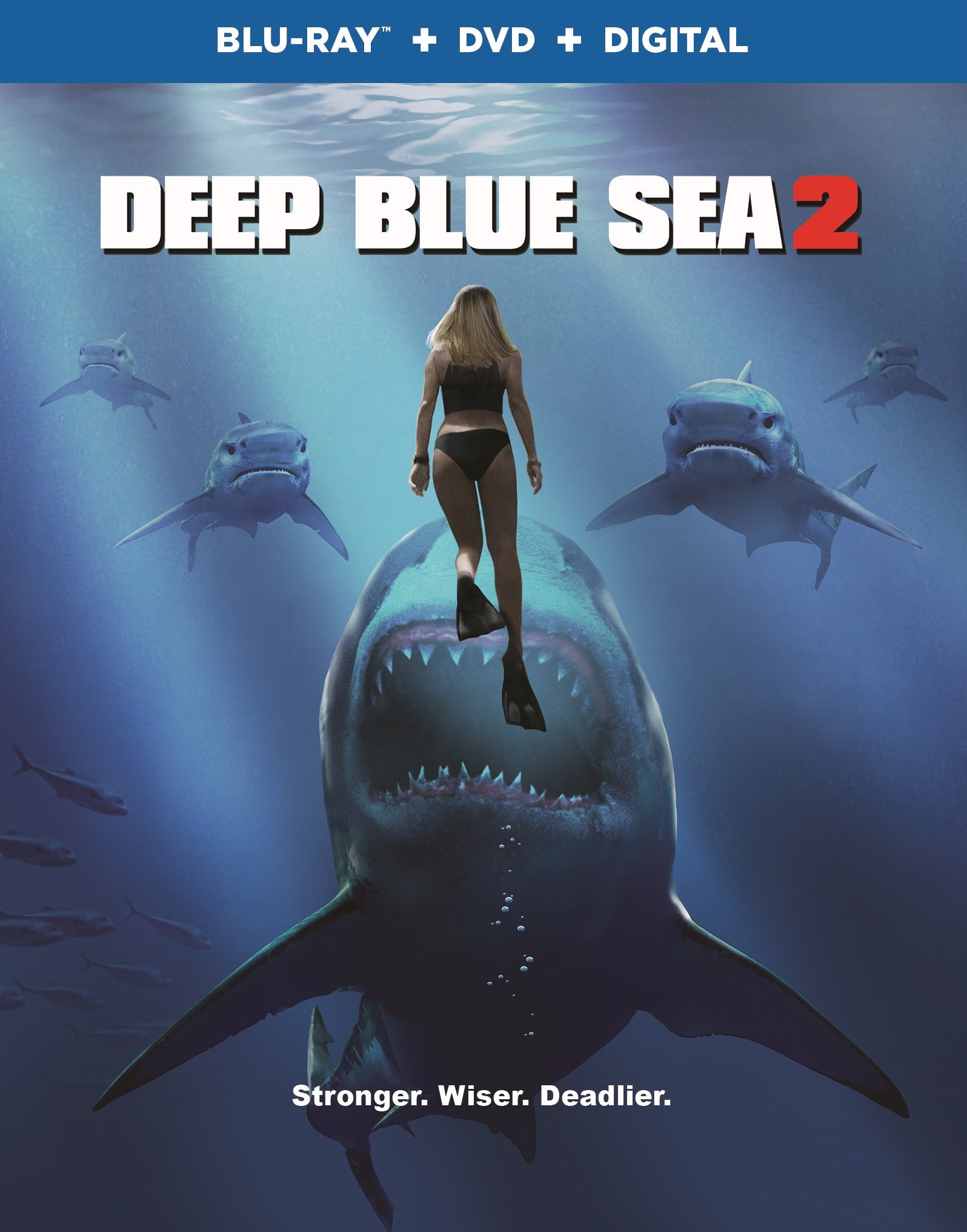 Deep Blue Sea 2' Swimming On To Blu-ray And DVD - horrorfuel.com