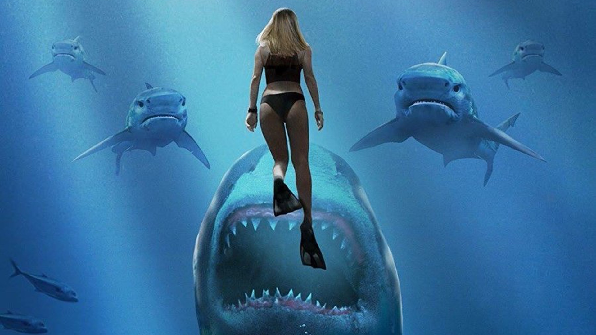 Trailer For DEEP BLUE SEA 2 Features Technologically Advanced Sharks ...