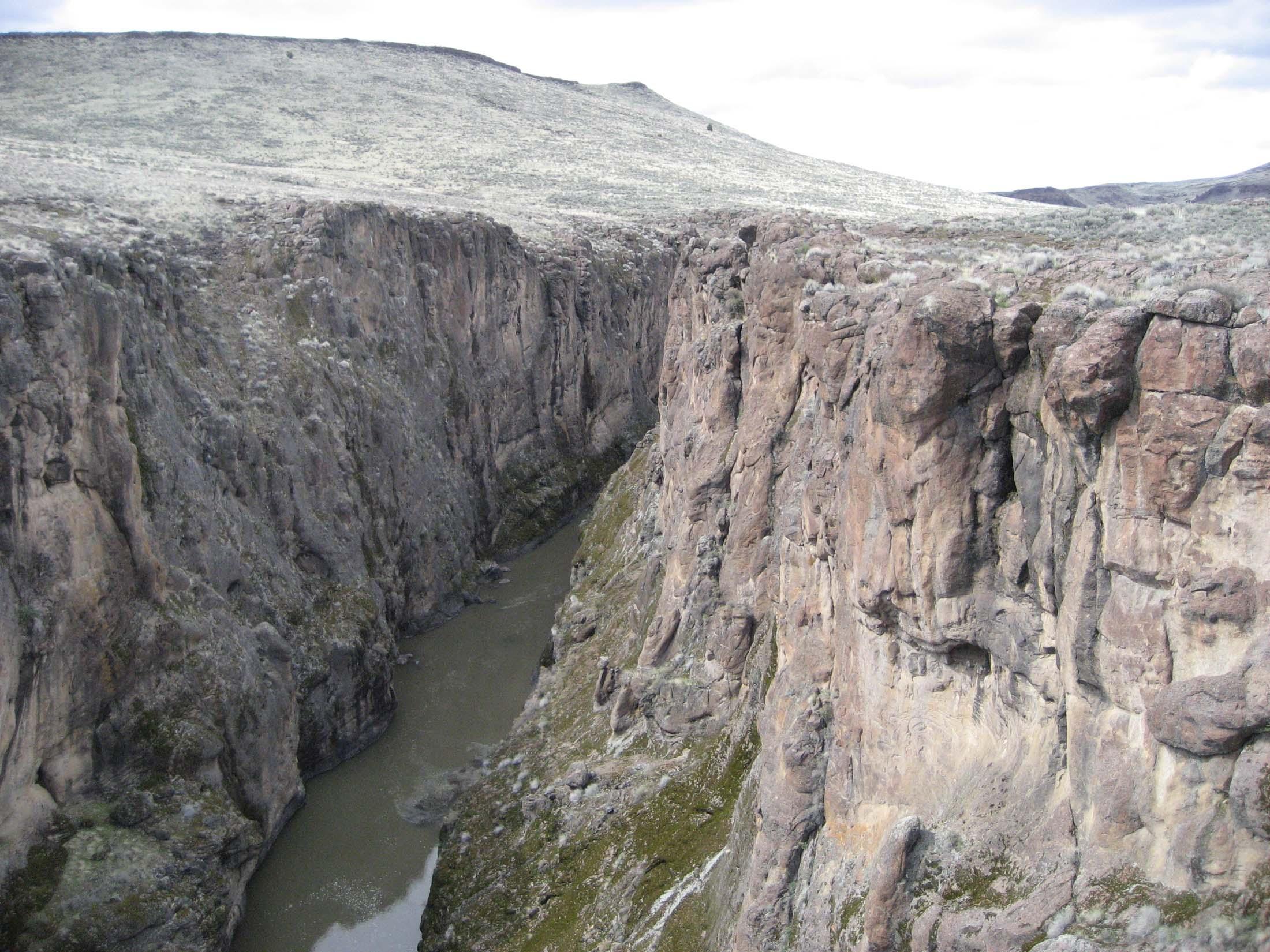 Deep canyon photo