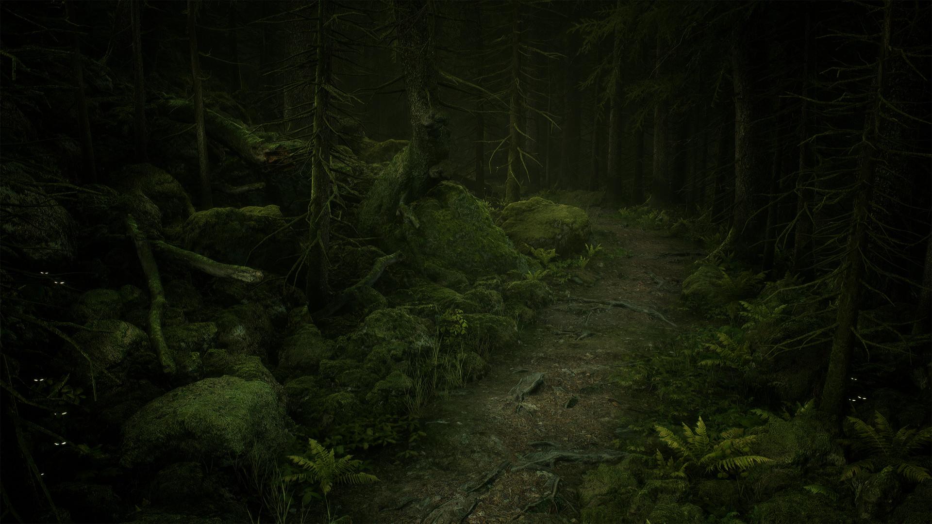 ArtStation - The Deep Woods, Robert Berg