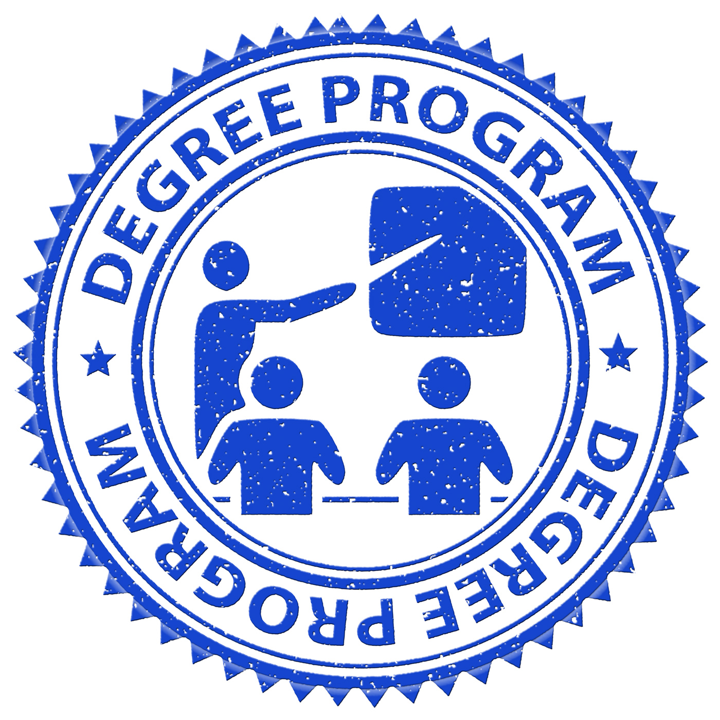 Degree Program Shows Stamps Educated And Education, Associates, Learning, Training, Studying, HQ Photo