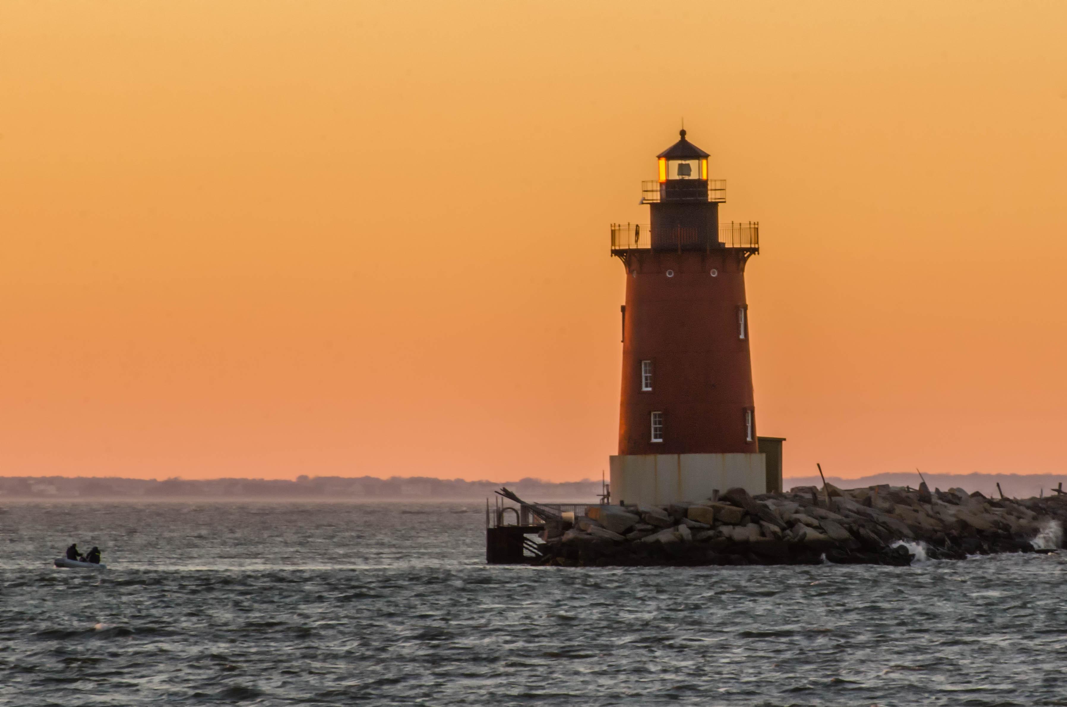 Delaware breakwater lighthouse photo