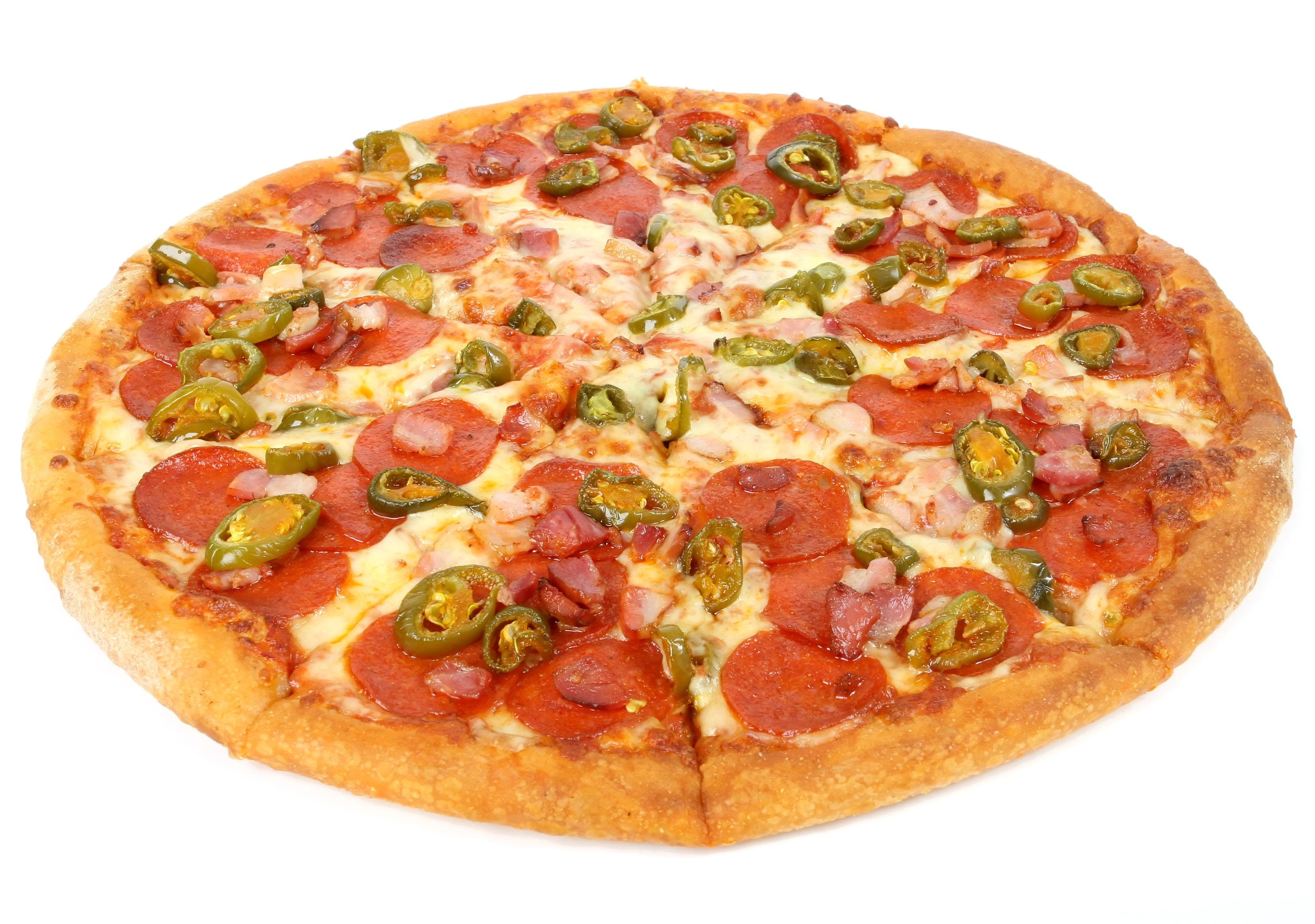 Delicious pizza photo