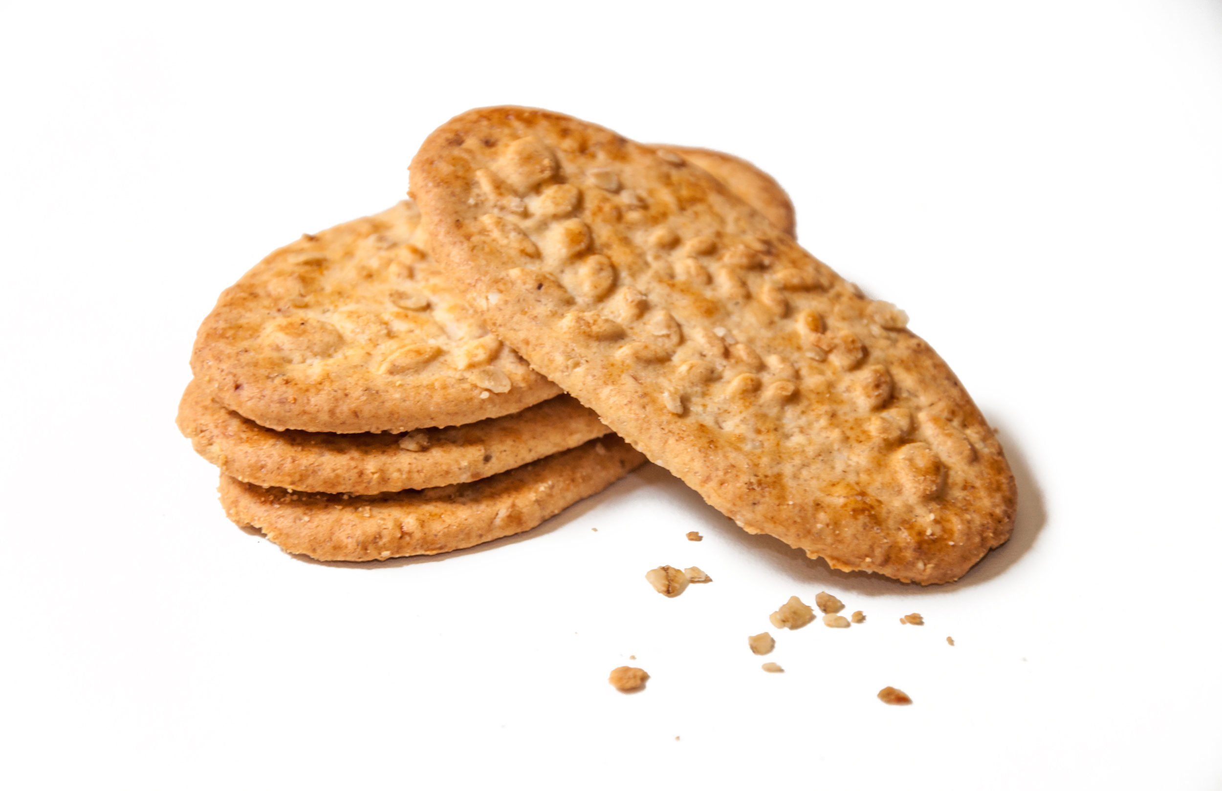 Delicious wheat biscuits cookies photo