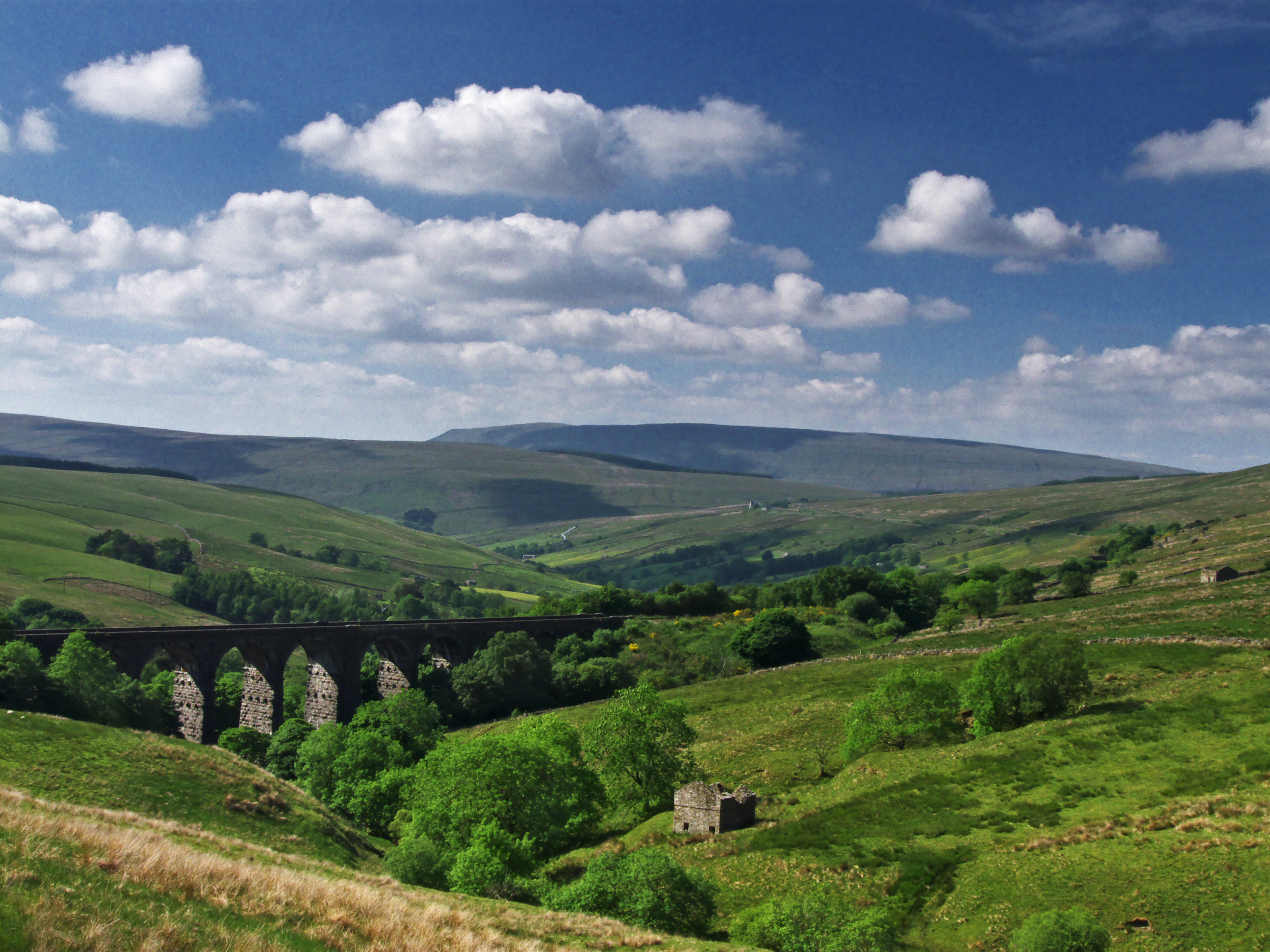 Dent dale valley photo