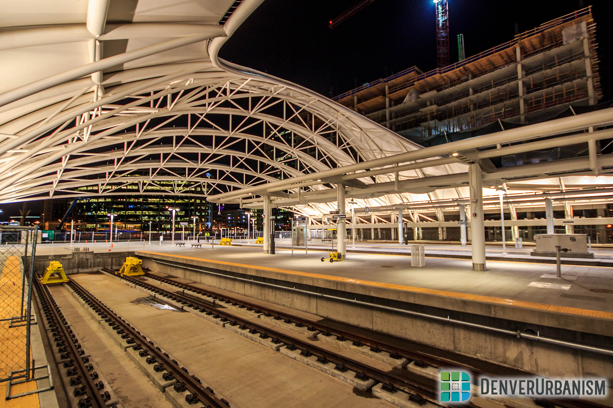 Denver amtrak station photo