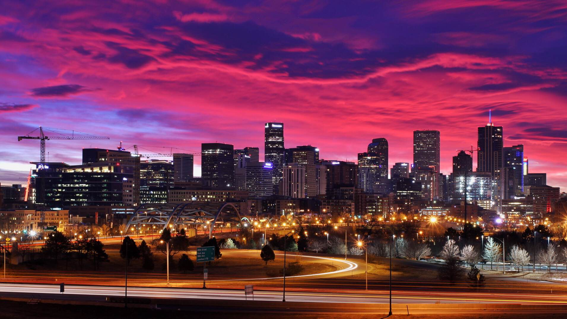 Denver Sunrise - Imgur