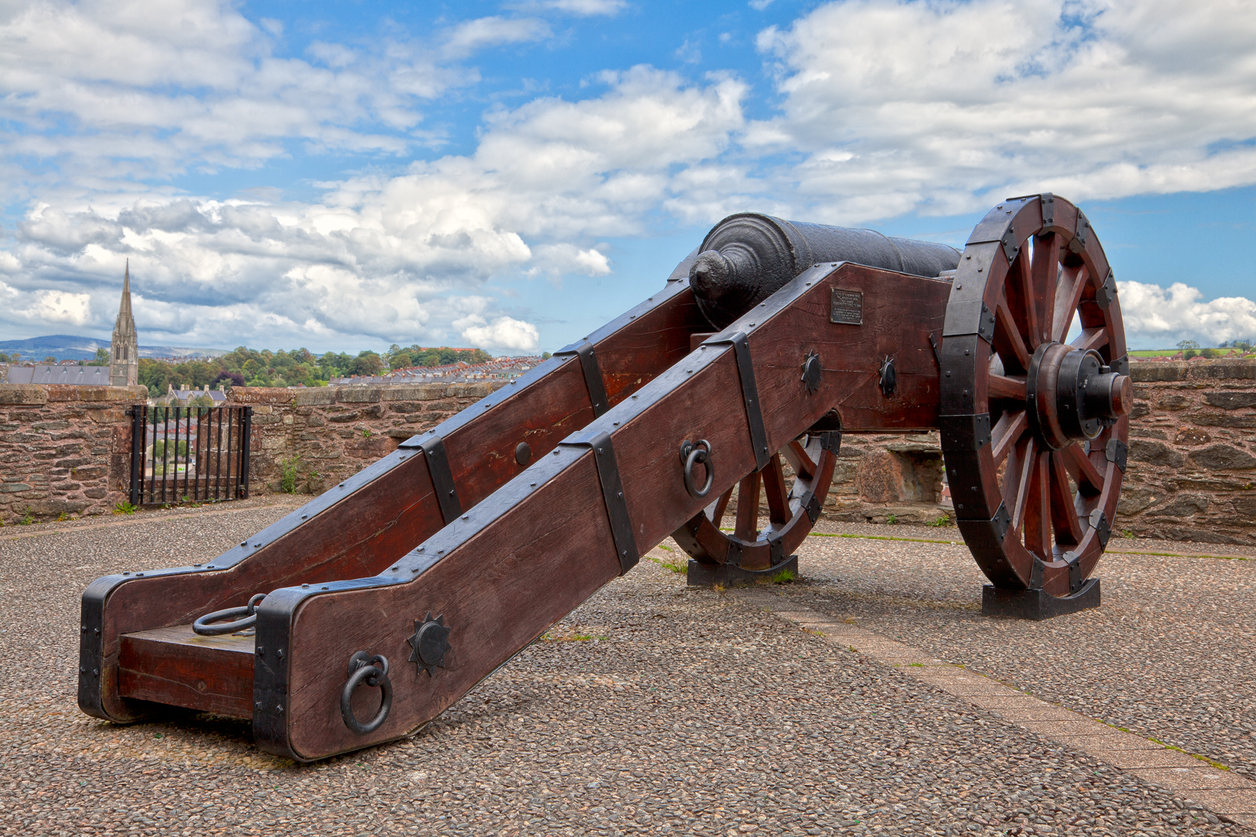 Derry cannon - hdr photo