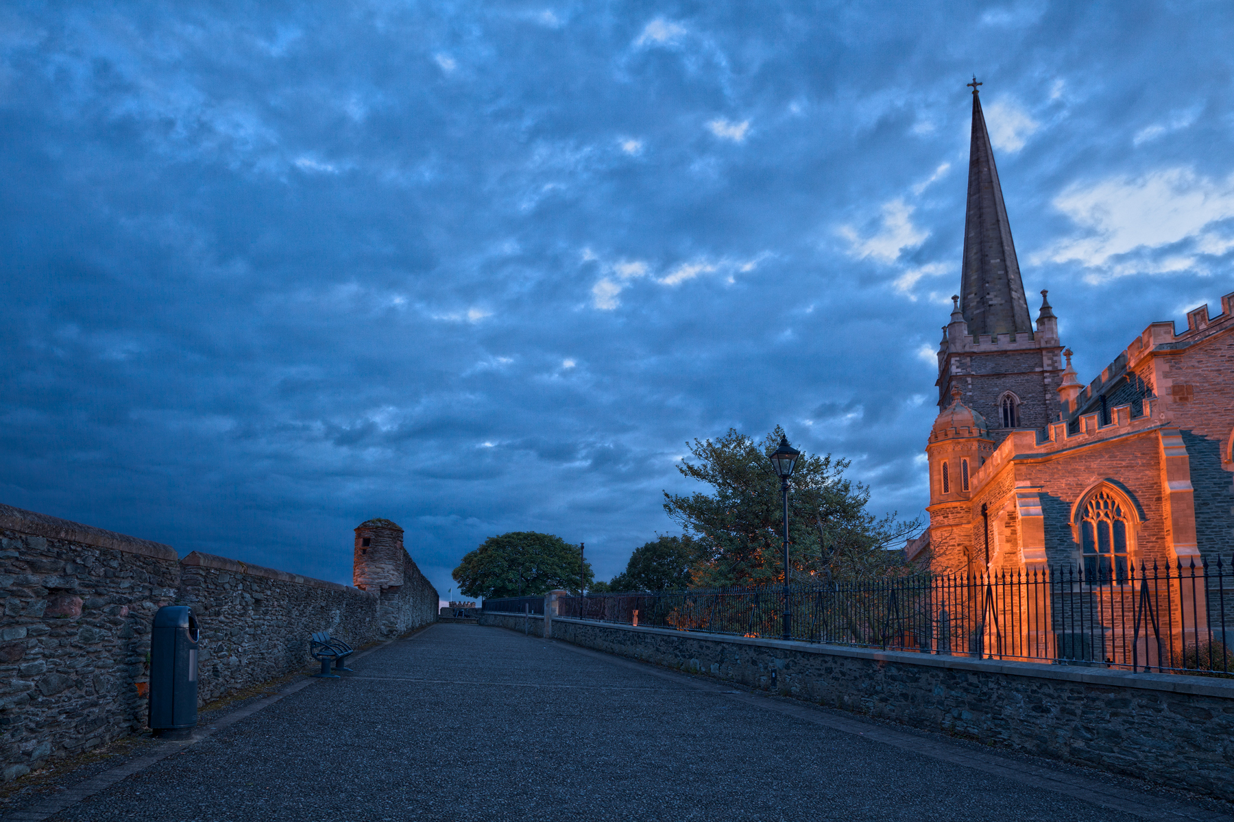 Derry Twilight - HDR, Angle, Photo, Scape, Resource, HQ Photo