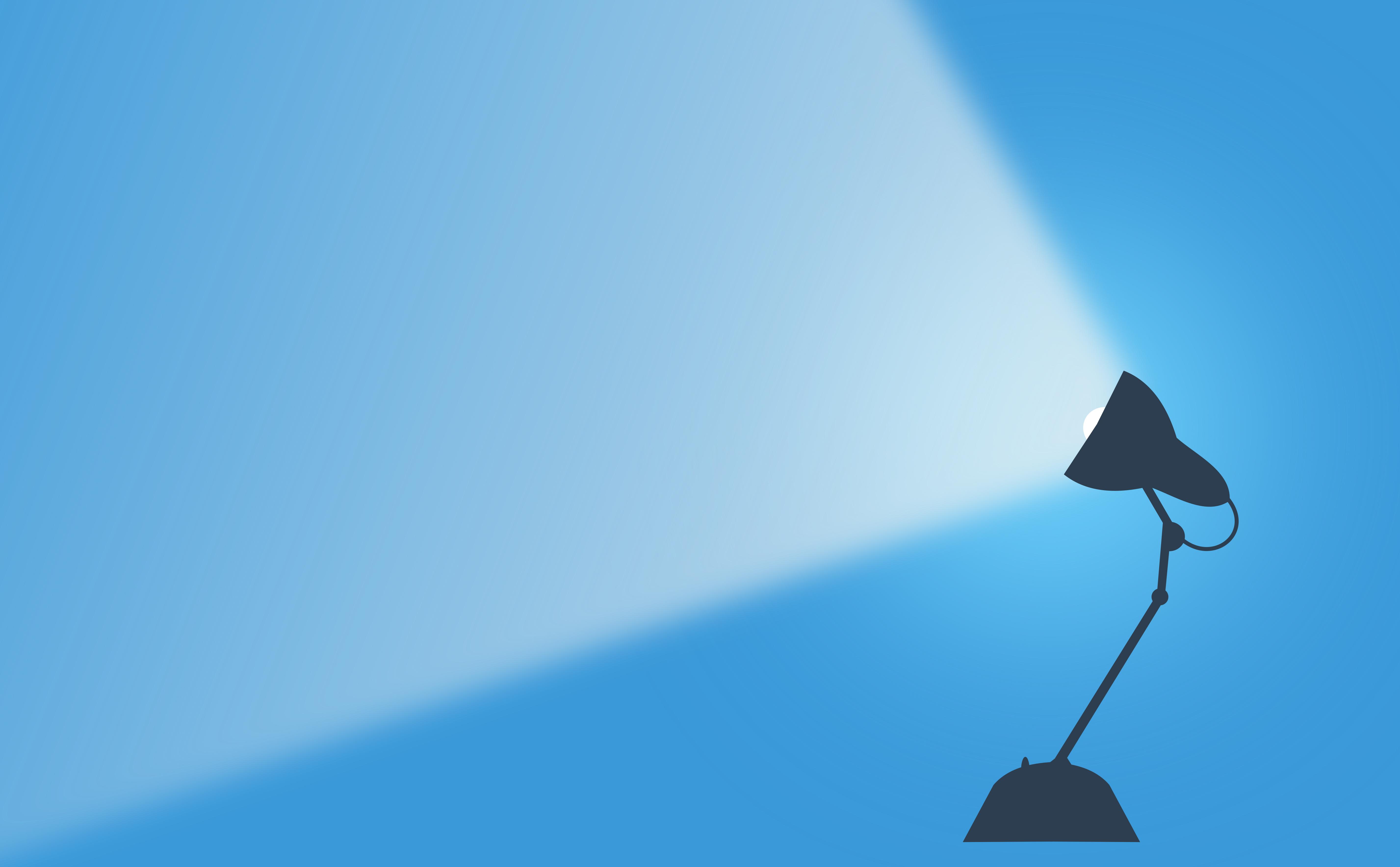 Desk Lamp Casting Light - Background With Copyspace, Casting, Concept, Copyspace, Dark, HQ Photo