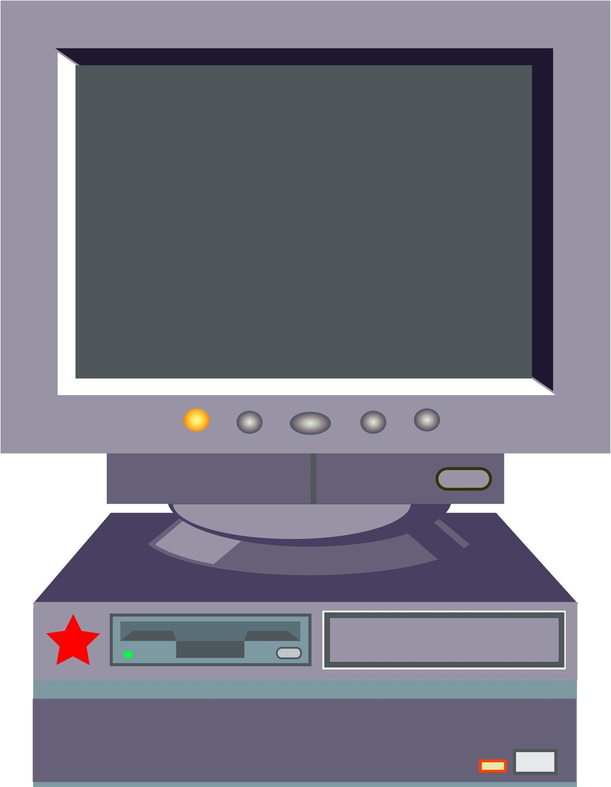 Desktop computer photo