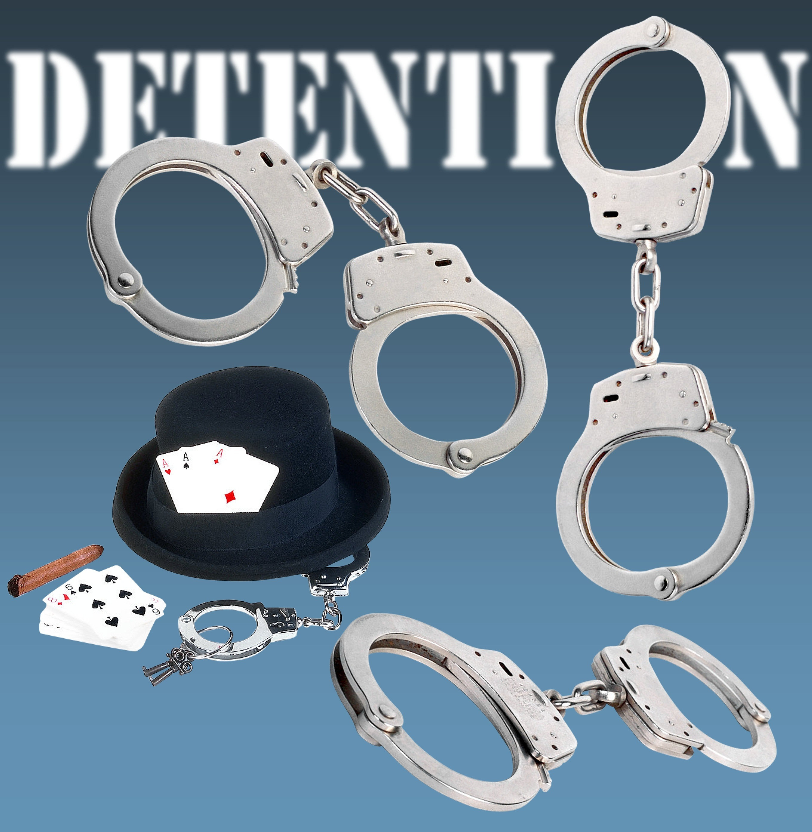 Detention Handcuffs, Card, Cuff, Detention, Handcuff, HQ Photo
