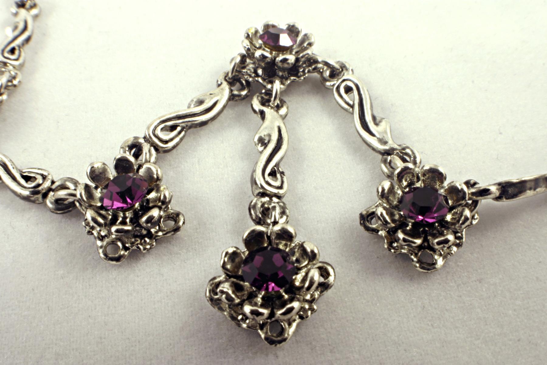 Diamond necklace photo