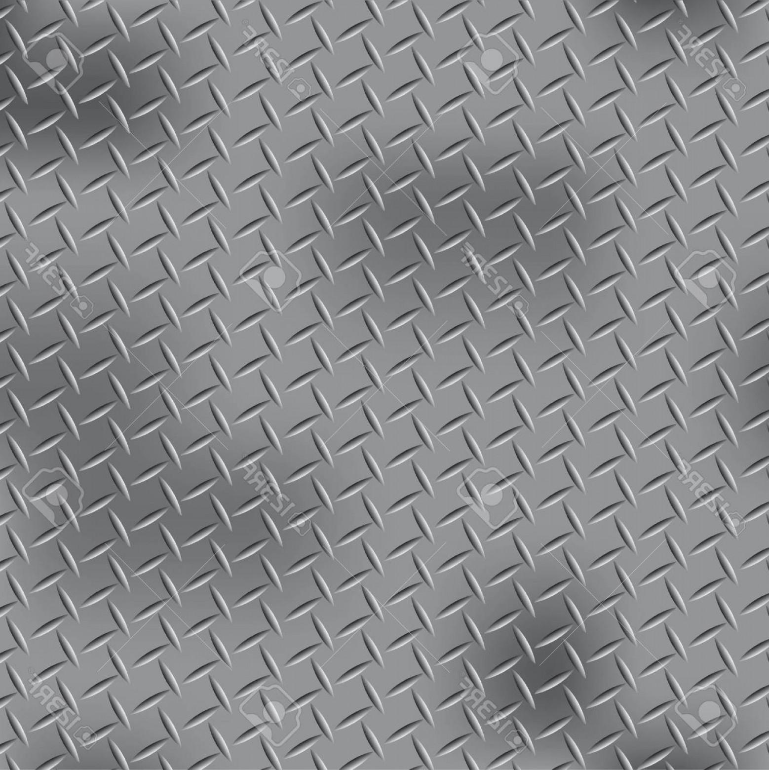 Photostock Vector Steel Diamond Plate Pattern   CreateMePink