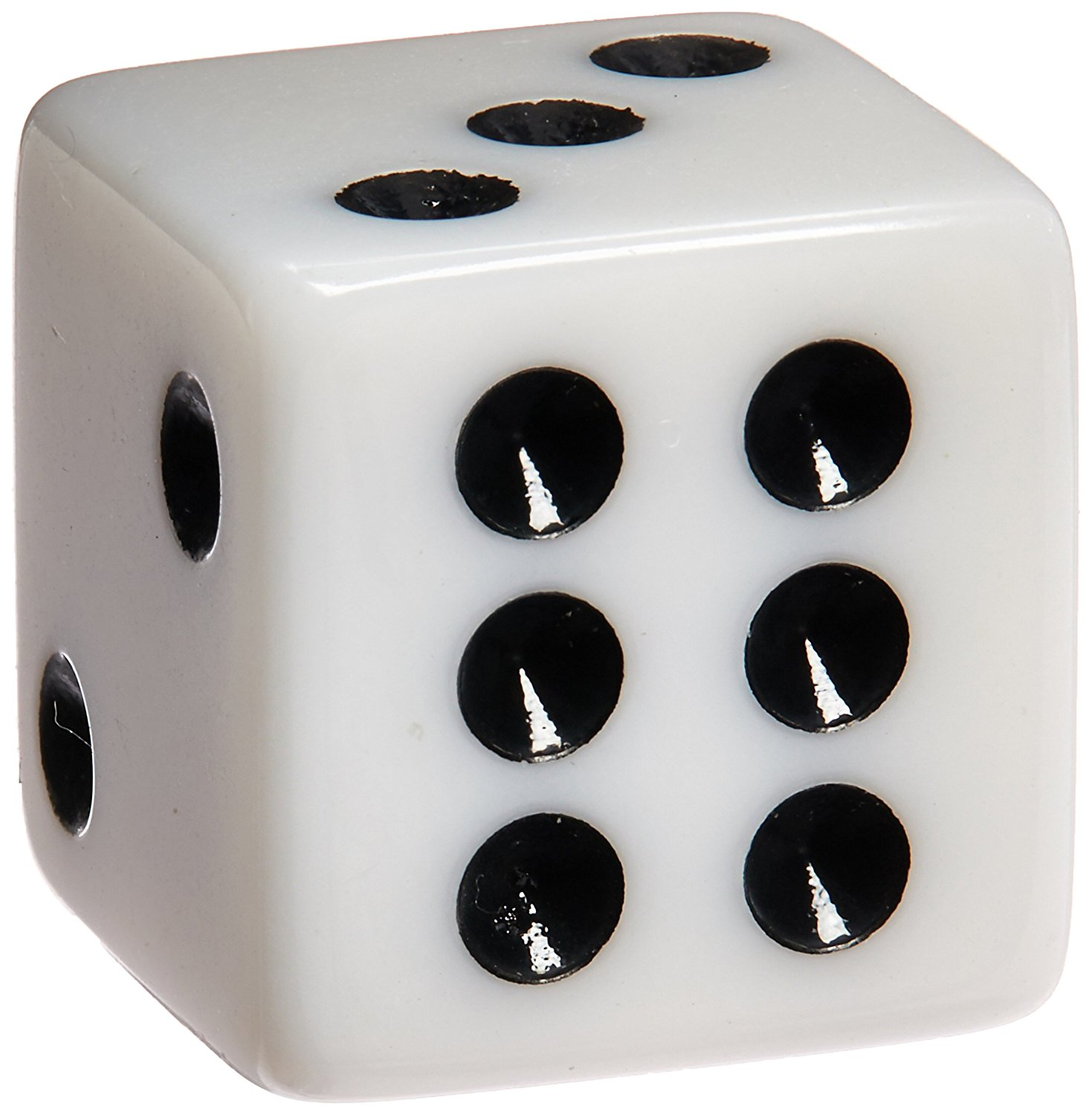 Amazon.com: 100 White Dice - 16mm by Marion: Toys & Games