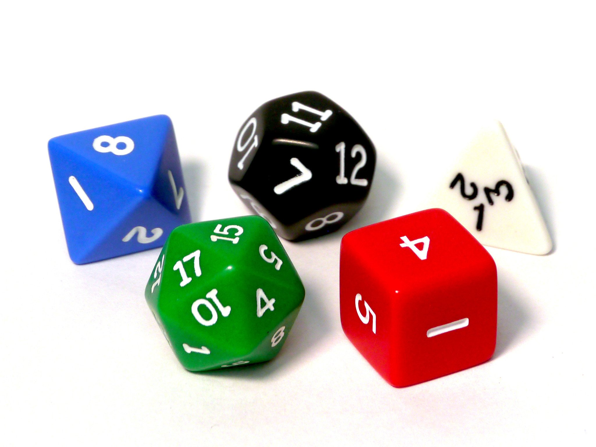 Platonic solids dice – Maths Gear - Mathematical curiosities, games ...