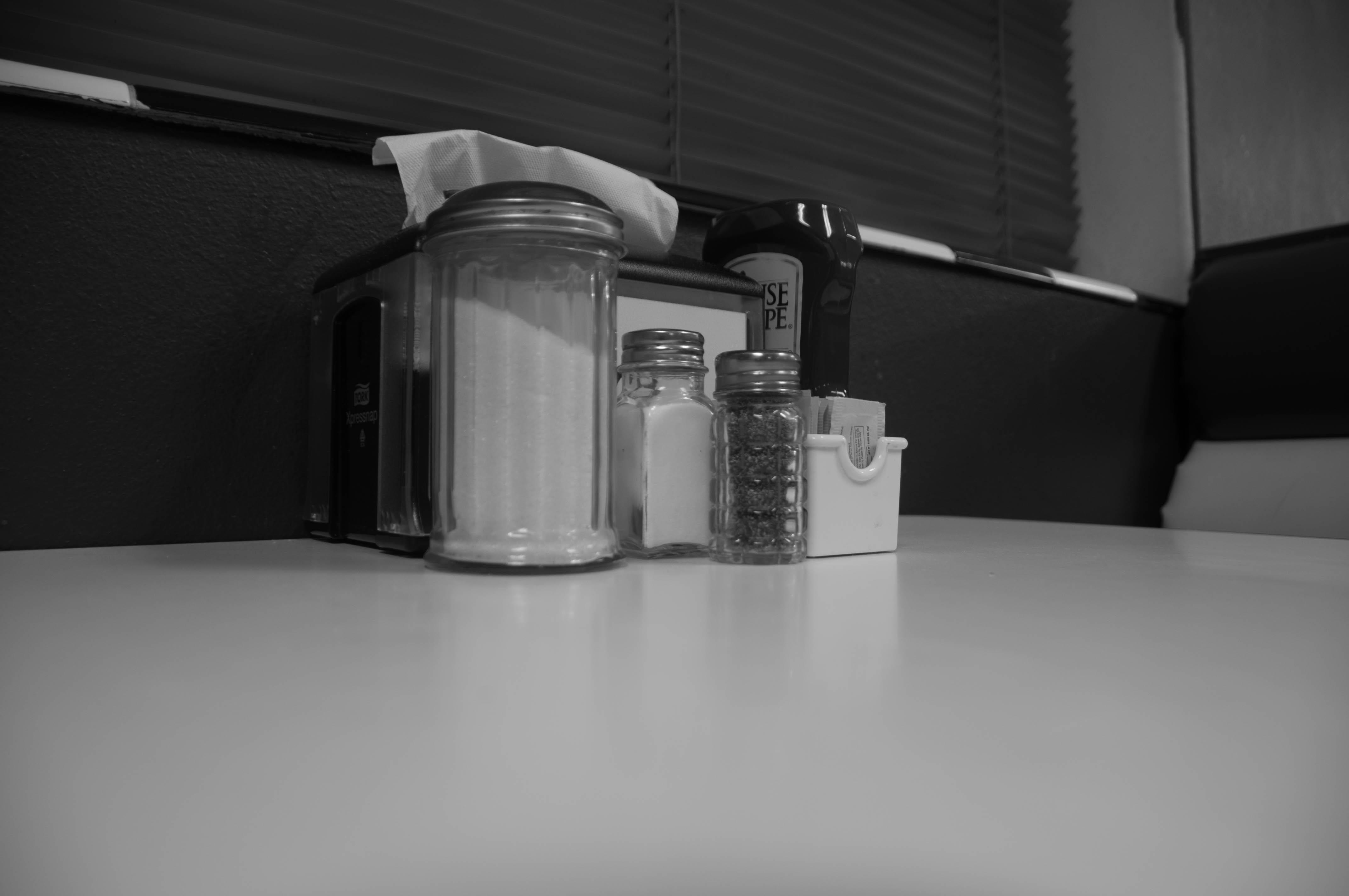 Diner Ketchup, Restaurant, Pepper, Interior, Rural, HQ Photo
