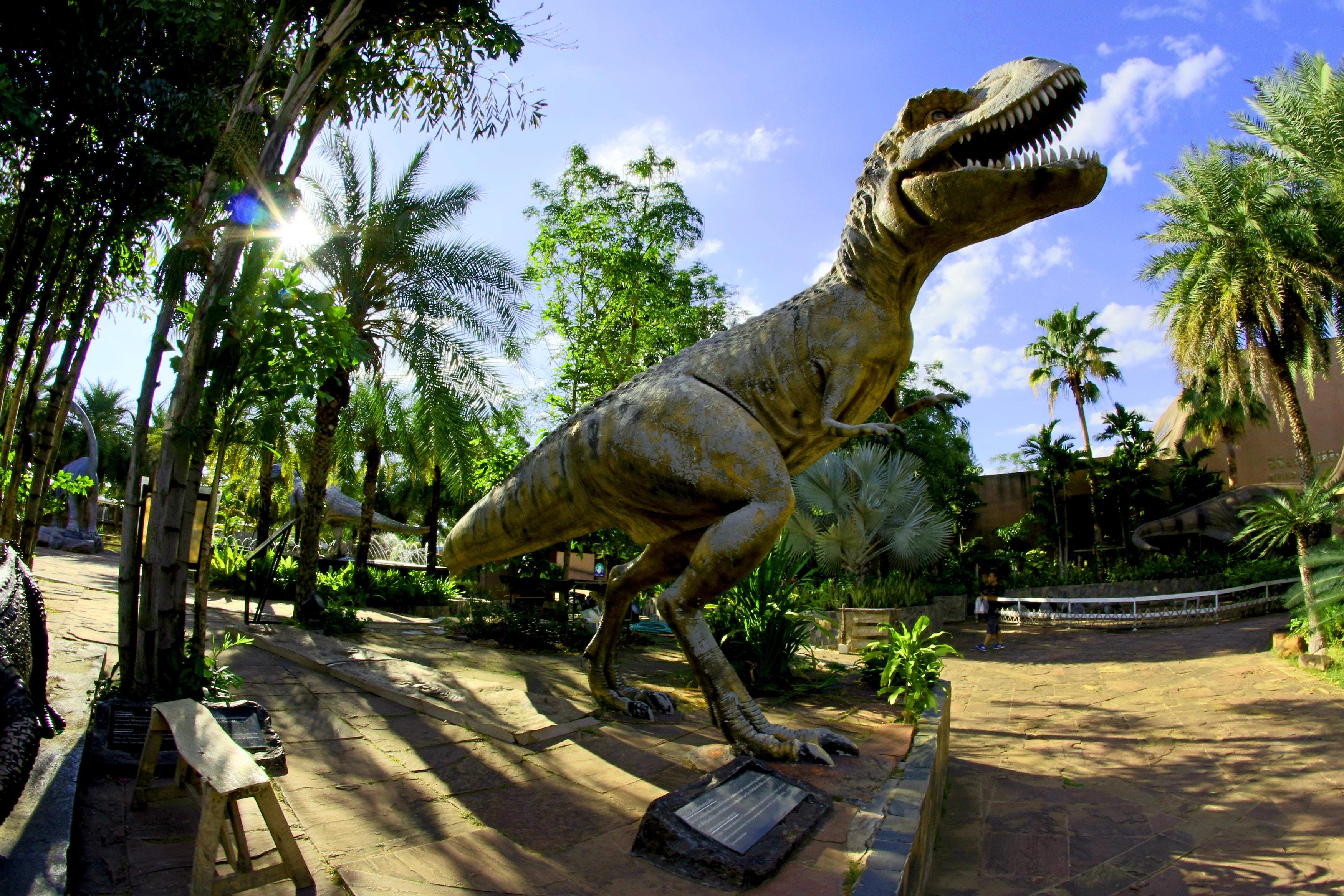 Dinosaur Statue, Animal, Sky, Research, Resort, HQ Photo