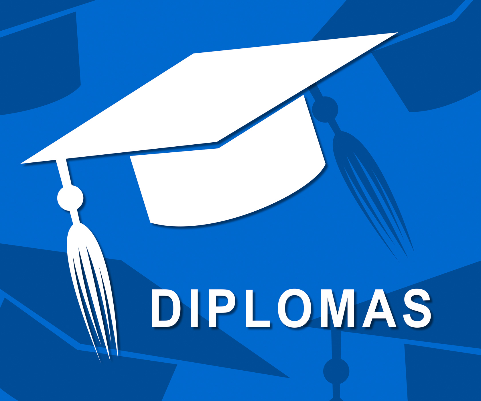 Diplomas Mortarboard Shows Qualifications Degrees And University, Academic, Graduating, Qualifications, Qualification, HQ Photo
