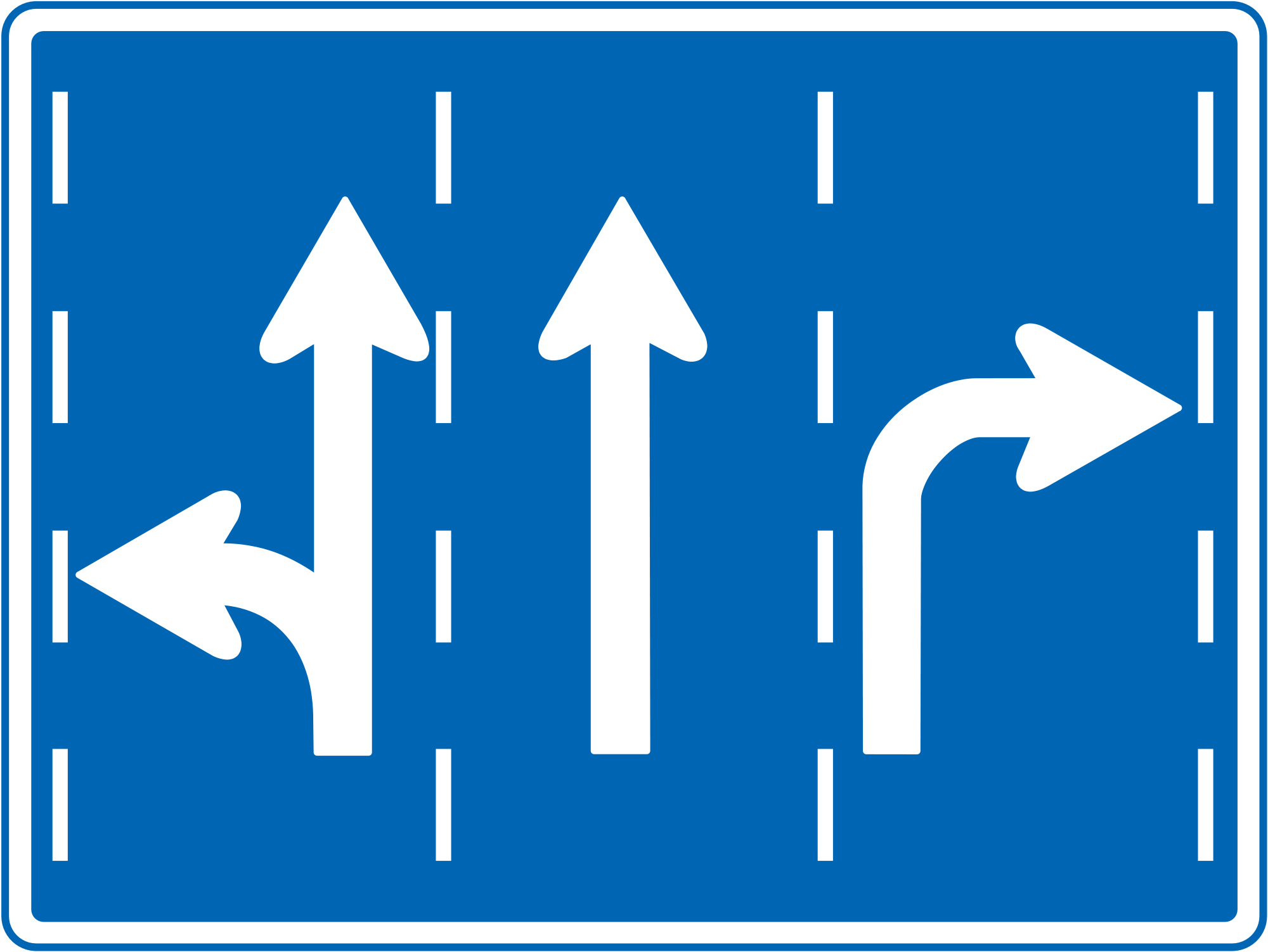 Direction road sign photo