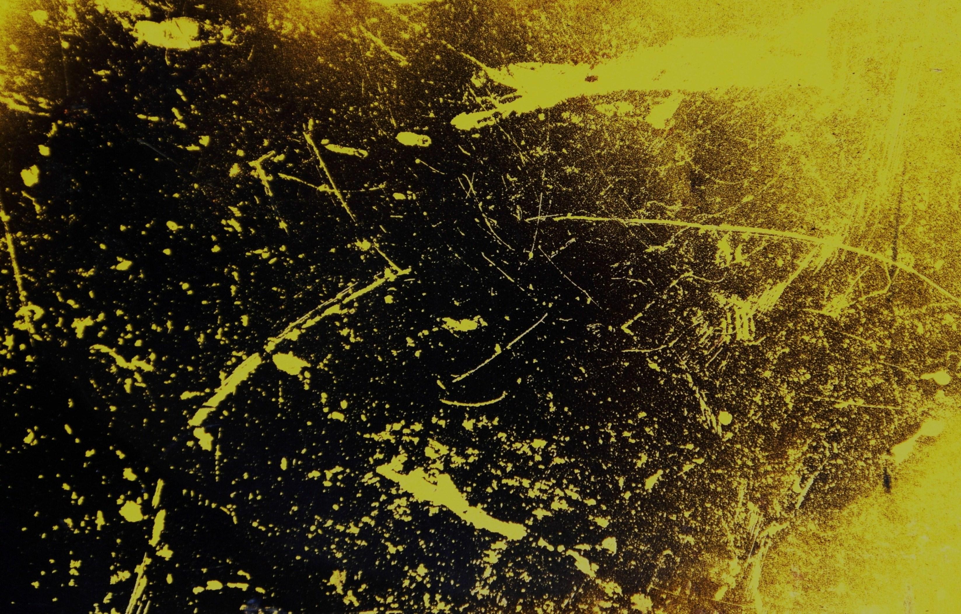 Dirty yellow grunge texture photo