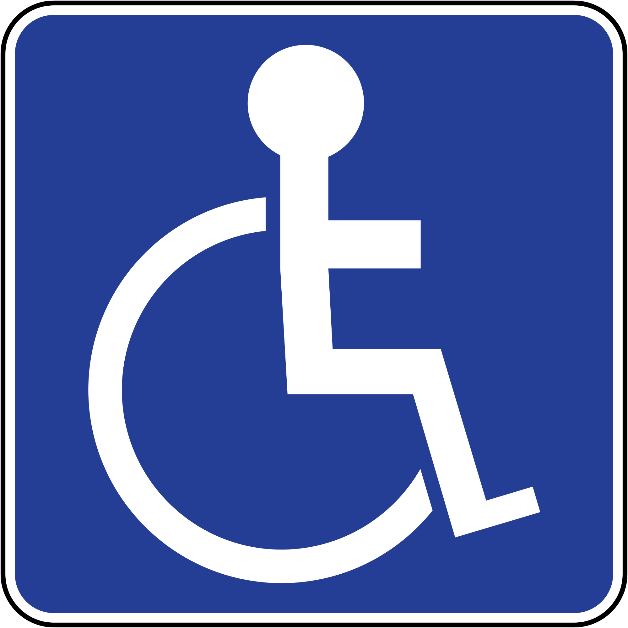 File:Brunei road sign - Disabled Parking.svg - Wikimedia Commons
