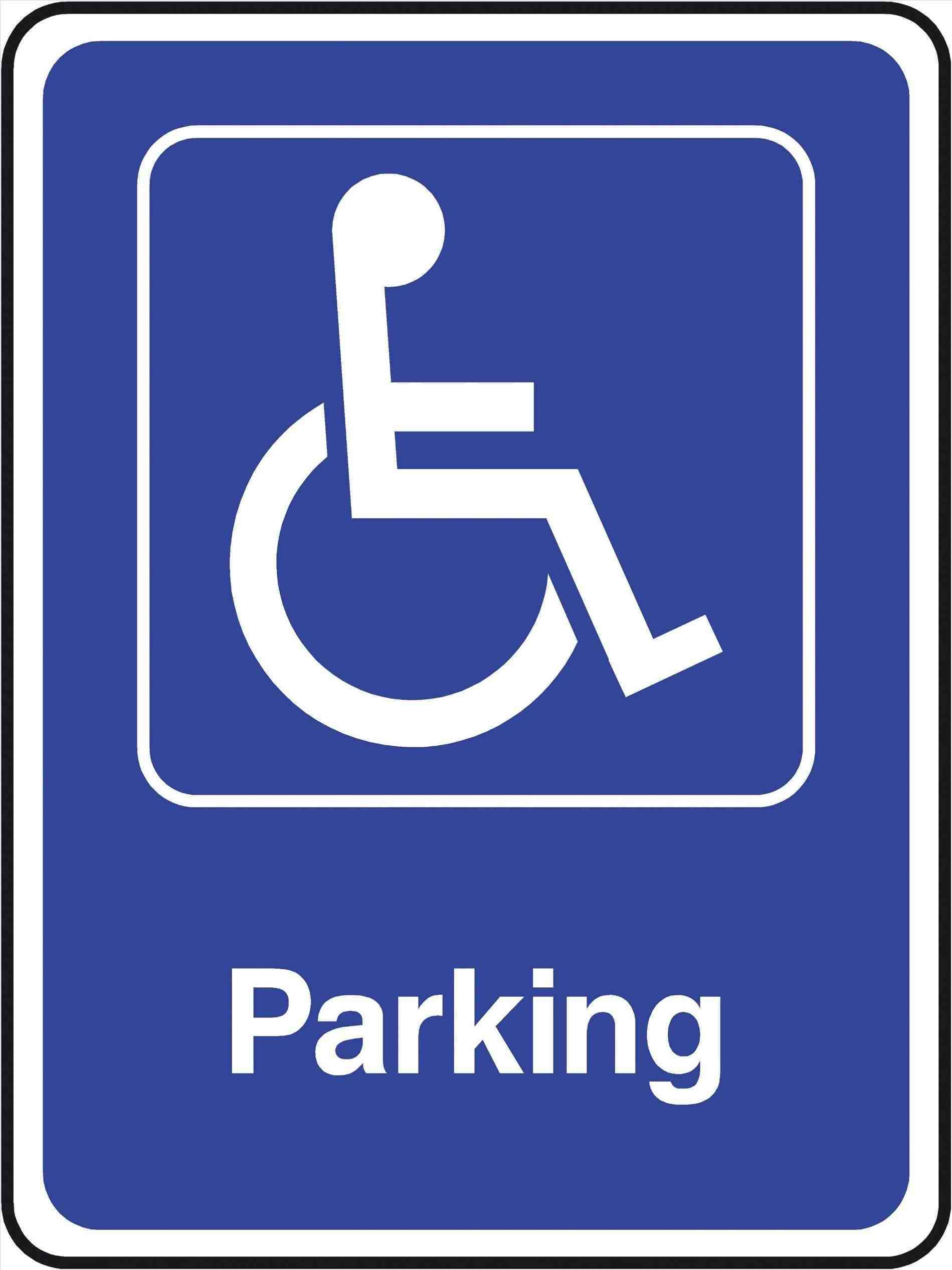 Free Photo Disabled Parking Sign Parking People Reserved Free