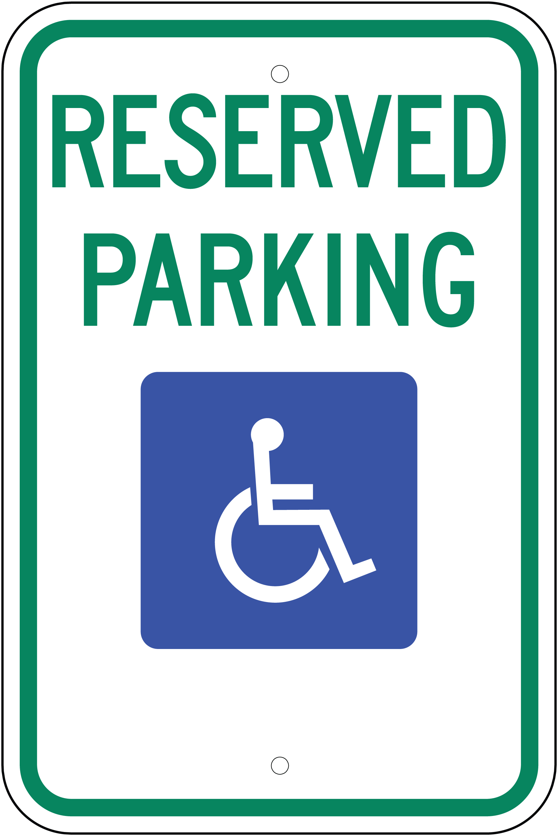 W.G.N Flag & Decorating Co. > Disabled/Handicapped Signs ...