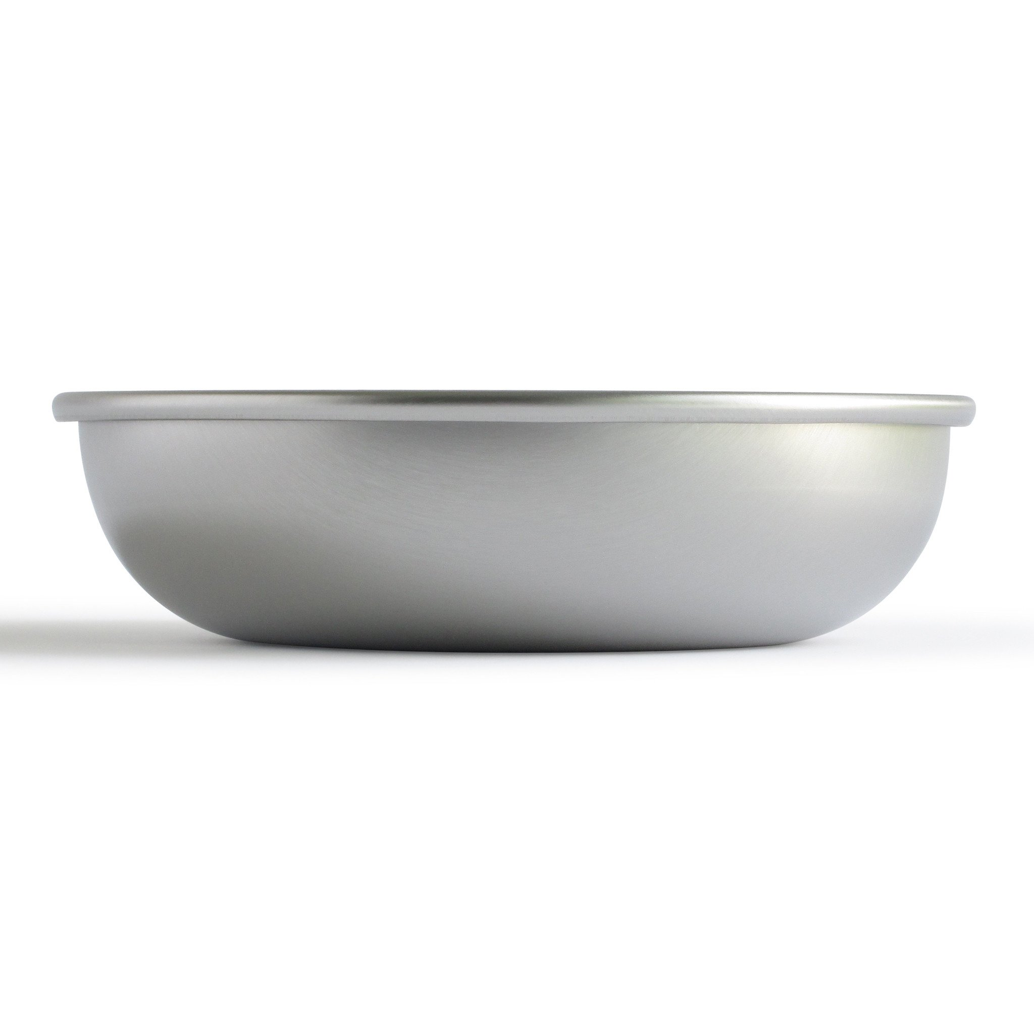 Stainless Steel Cat Bowls - Made in the USA - BASIS PET